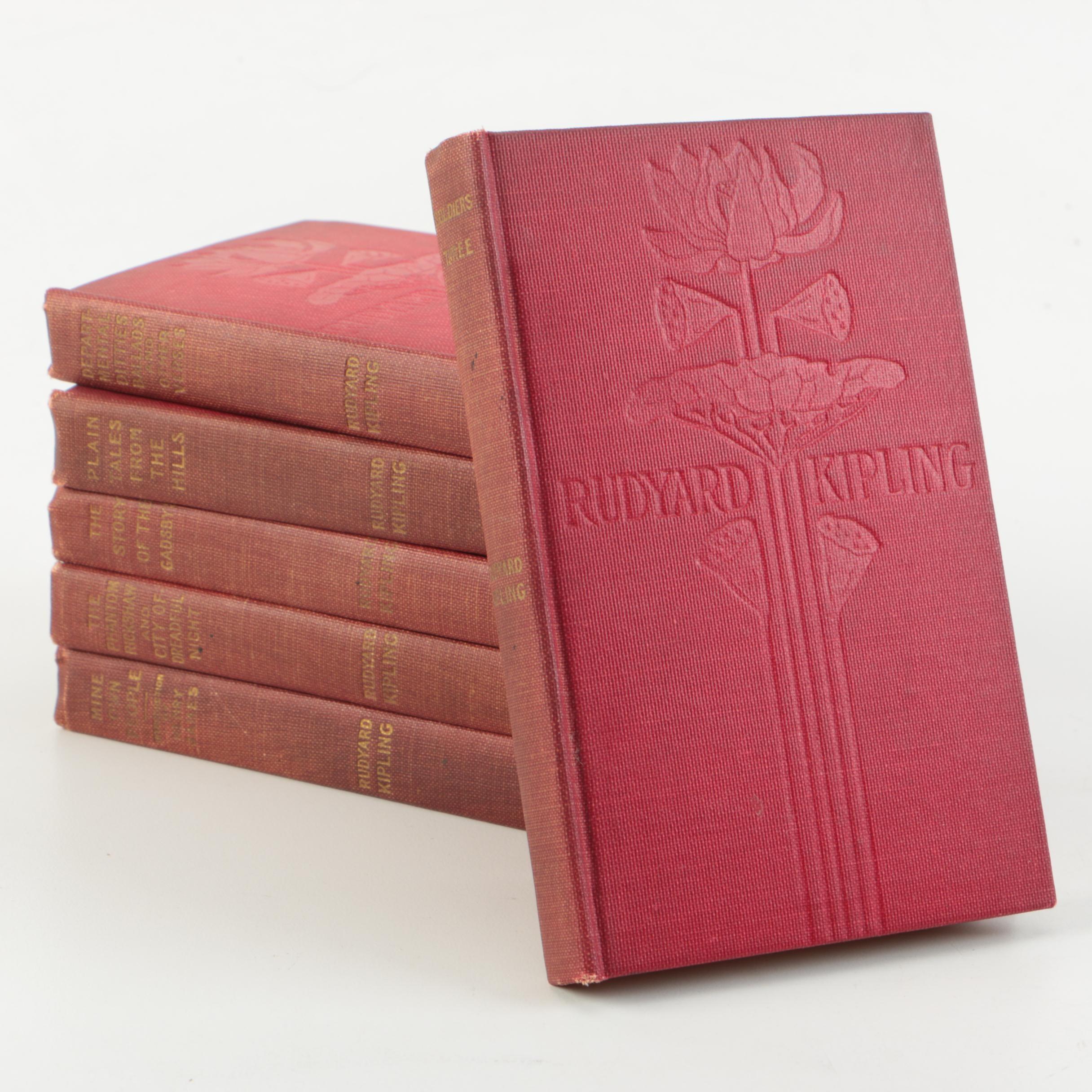 Antique Rudyard Kipling Novels