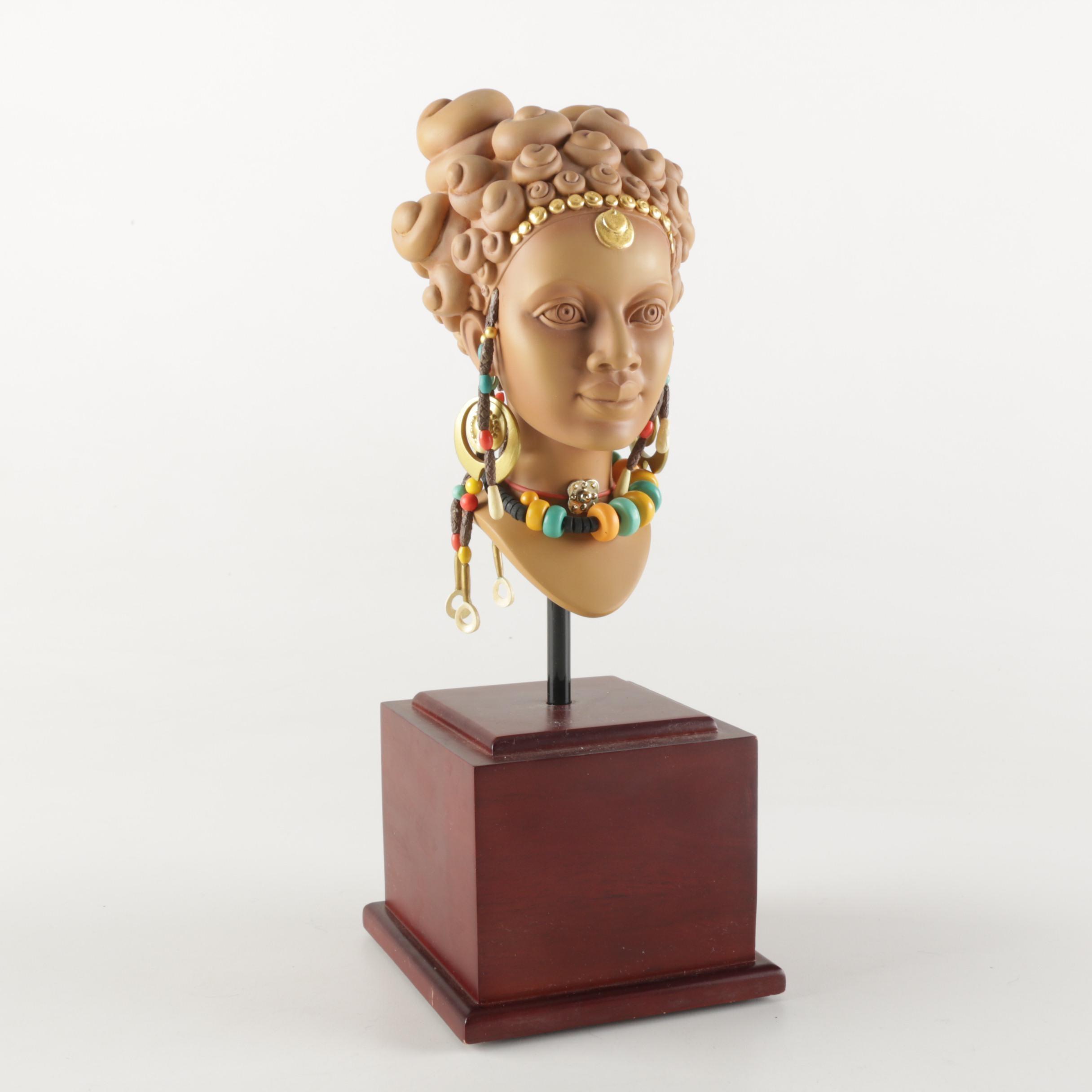 "The Blackshear Style ""Terracotta Princess"" Bust"