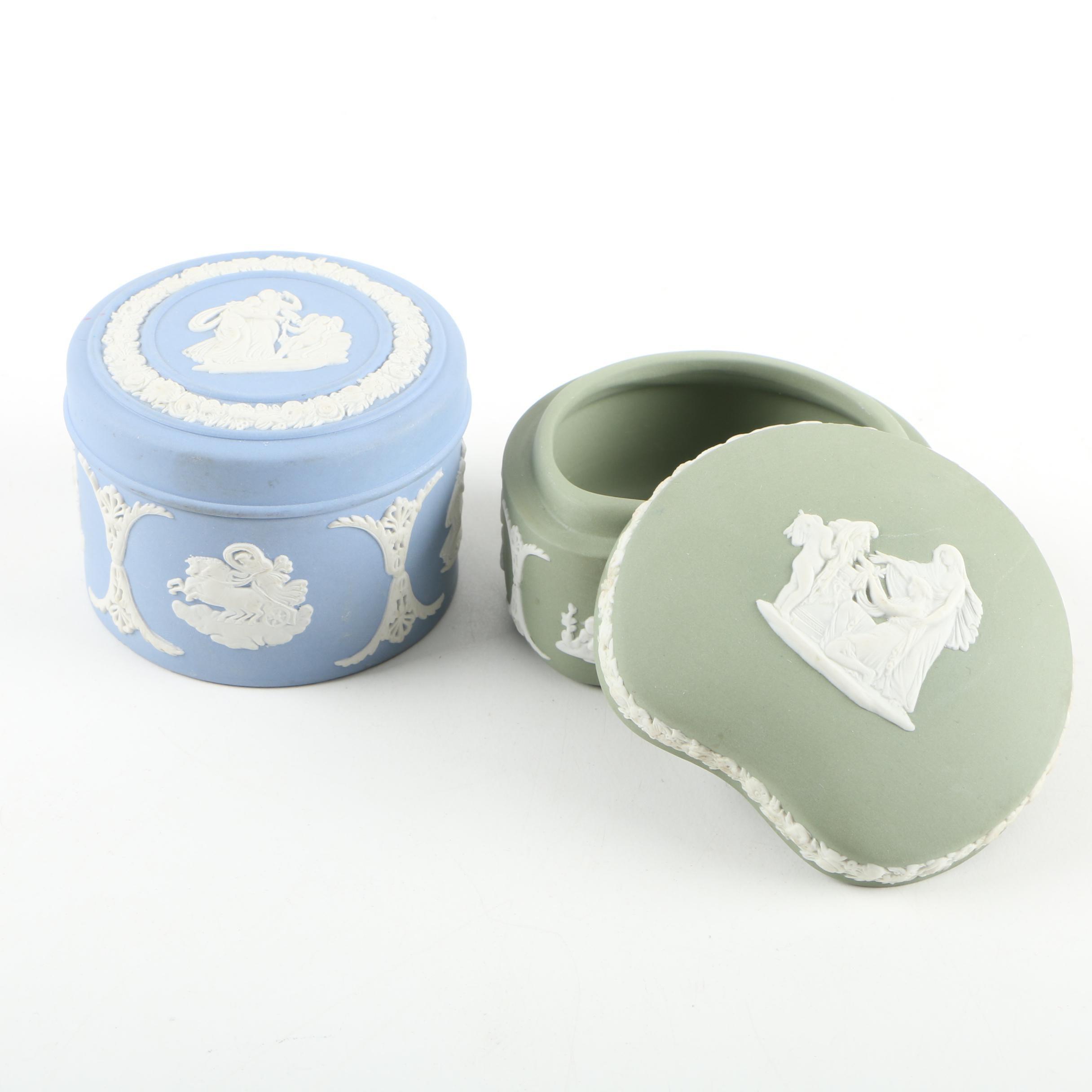 Wedgwood Jasperware Trinket Boxes