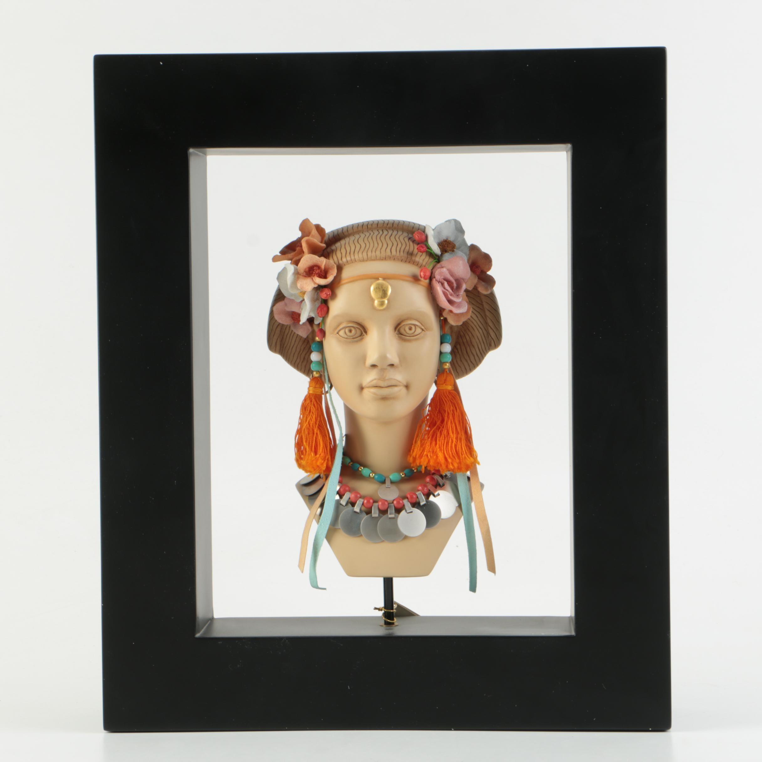 "The Blackshear Style ""Exotic Nouveau"" Bust"