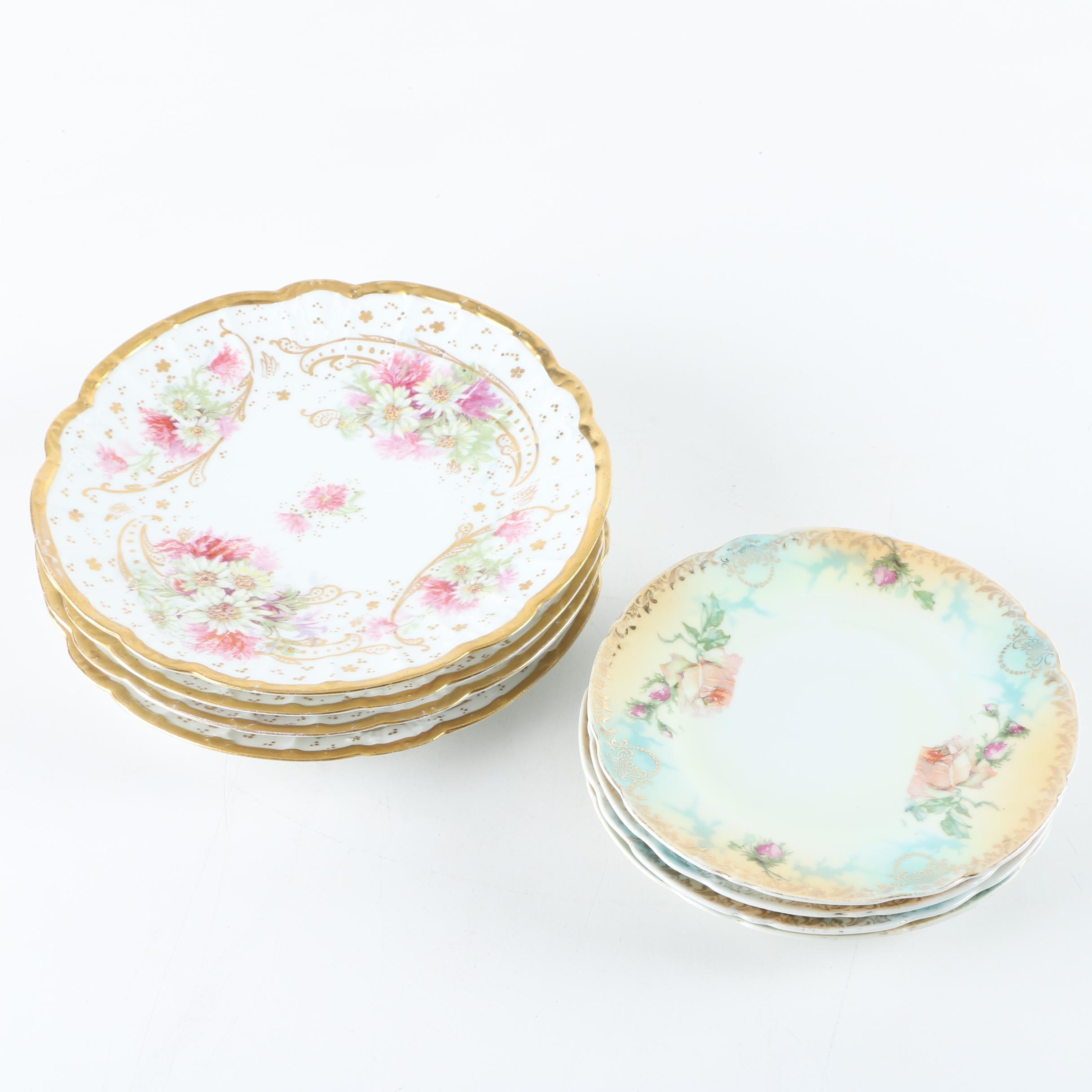 L. Straus & Sons Limoges Porcelain Plates and More
