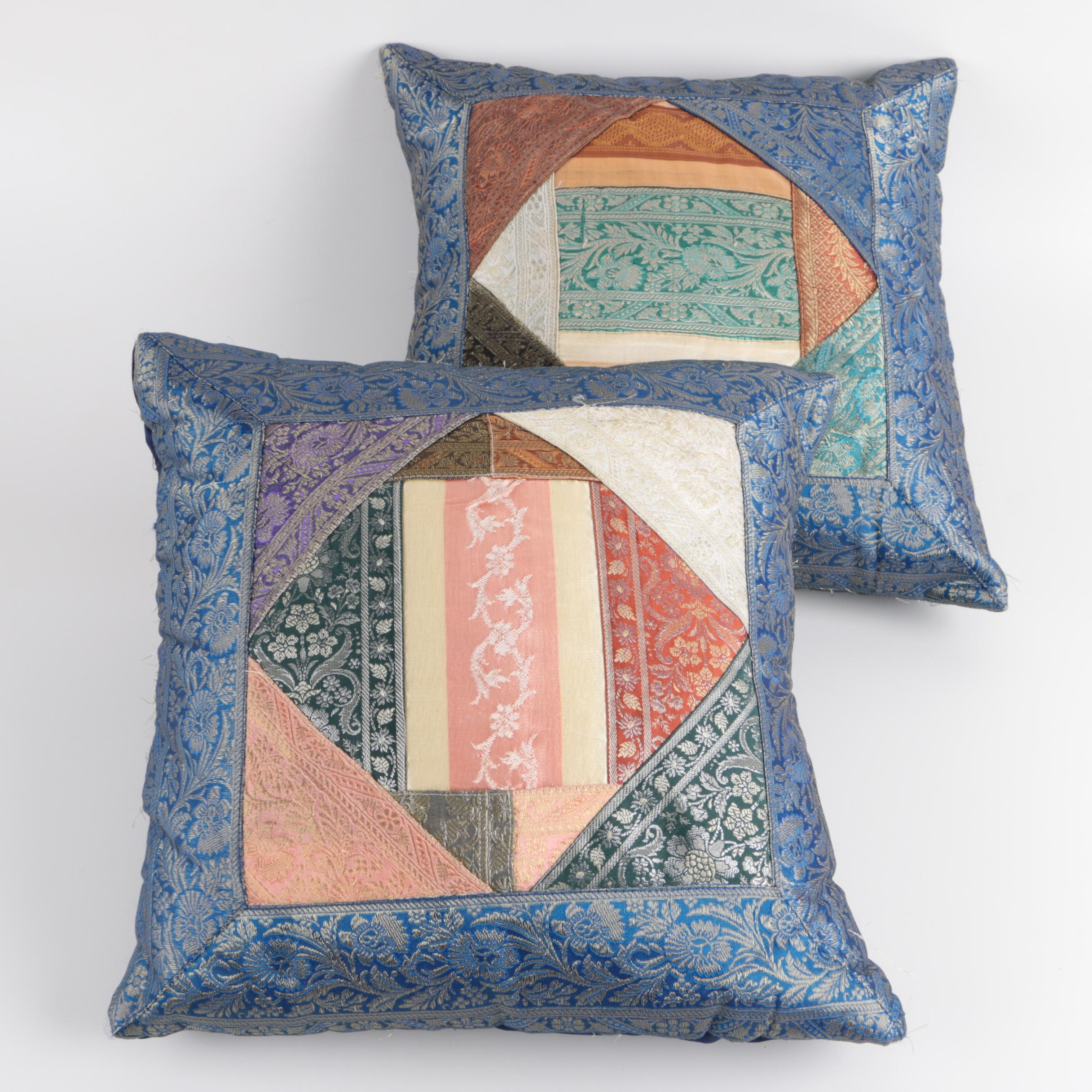Decorative Foliage Throw Pillows