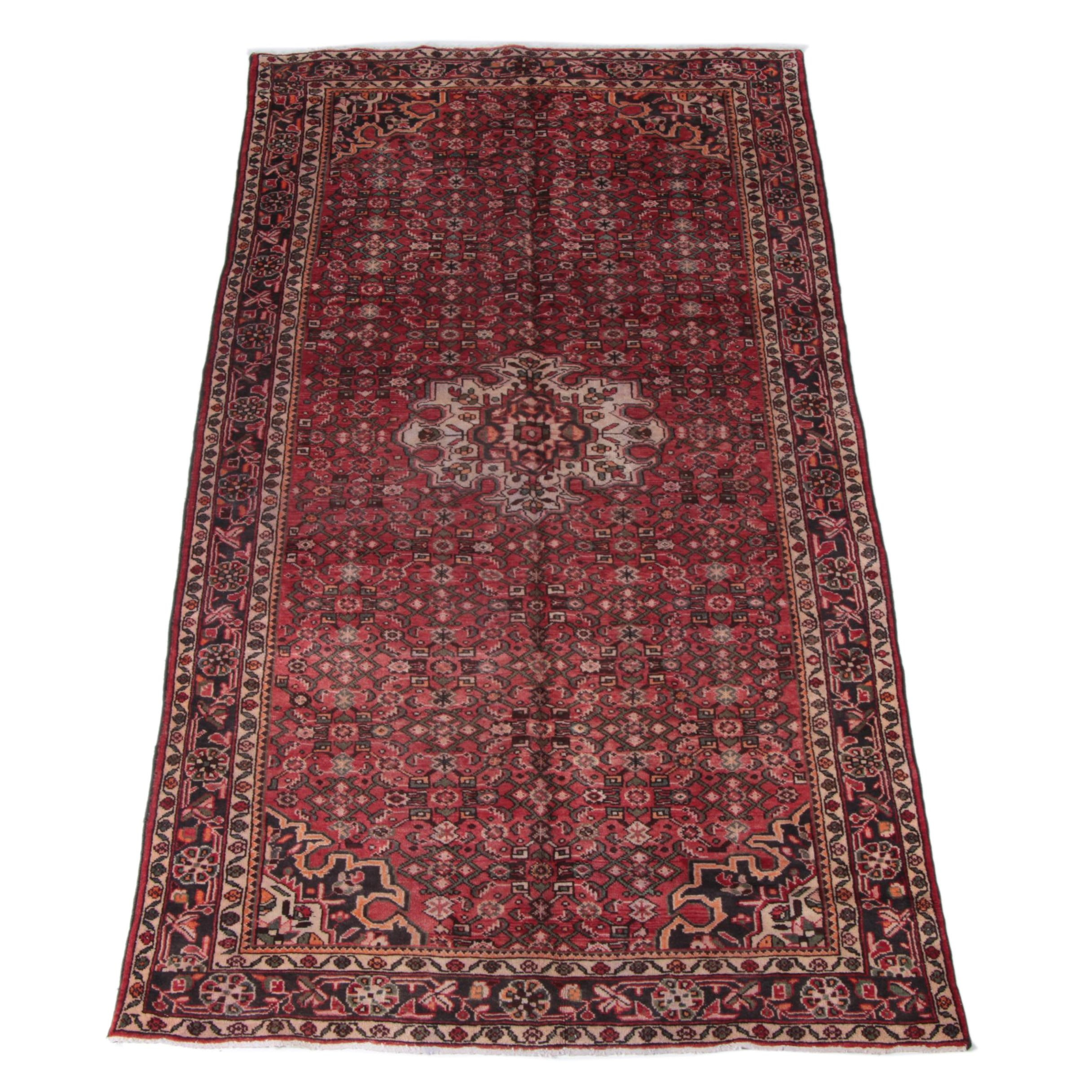 Hand-Knotted Romanian Tabriz Style Area Rug