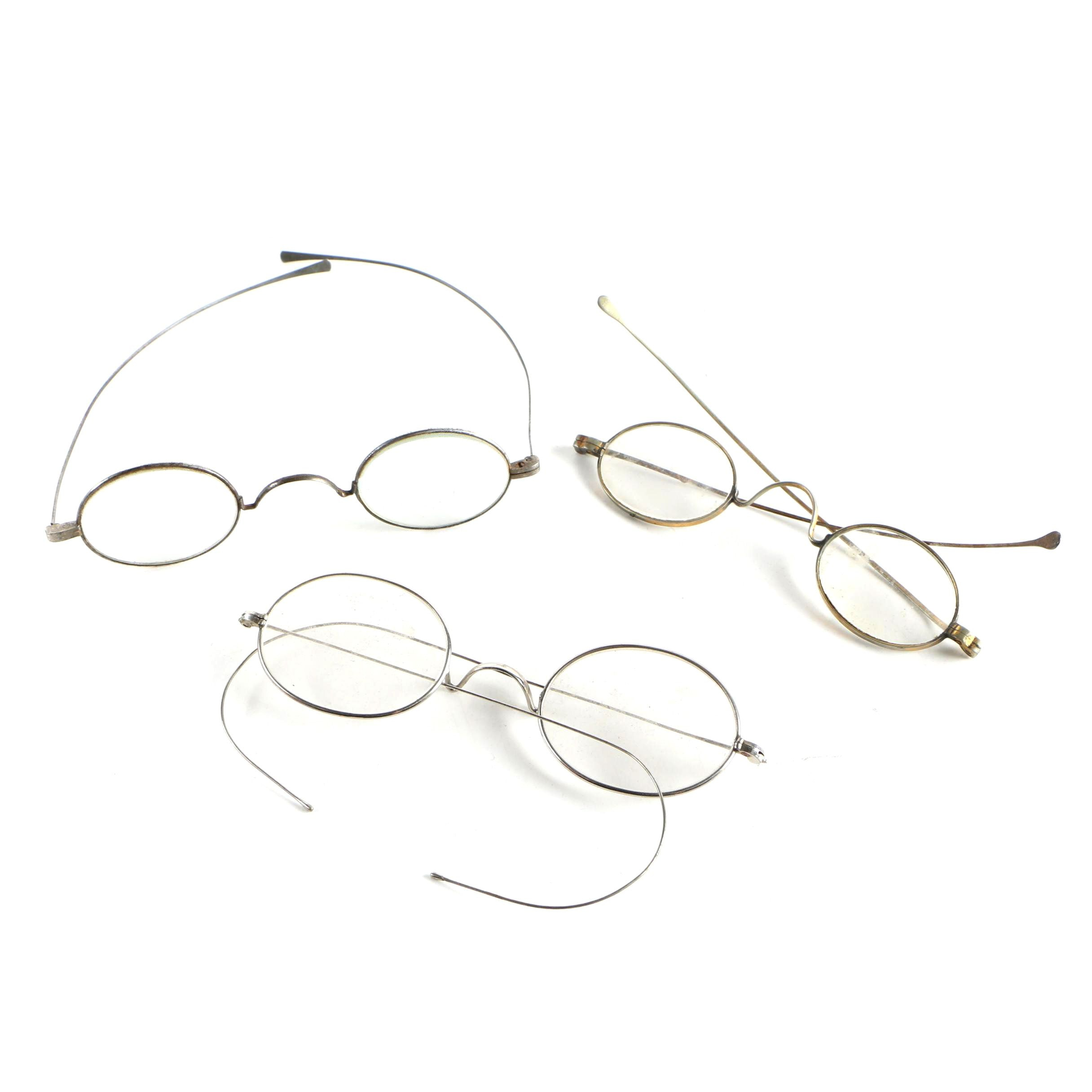 Vintage Wire-Rimmed Spectacles