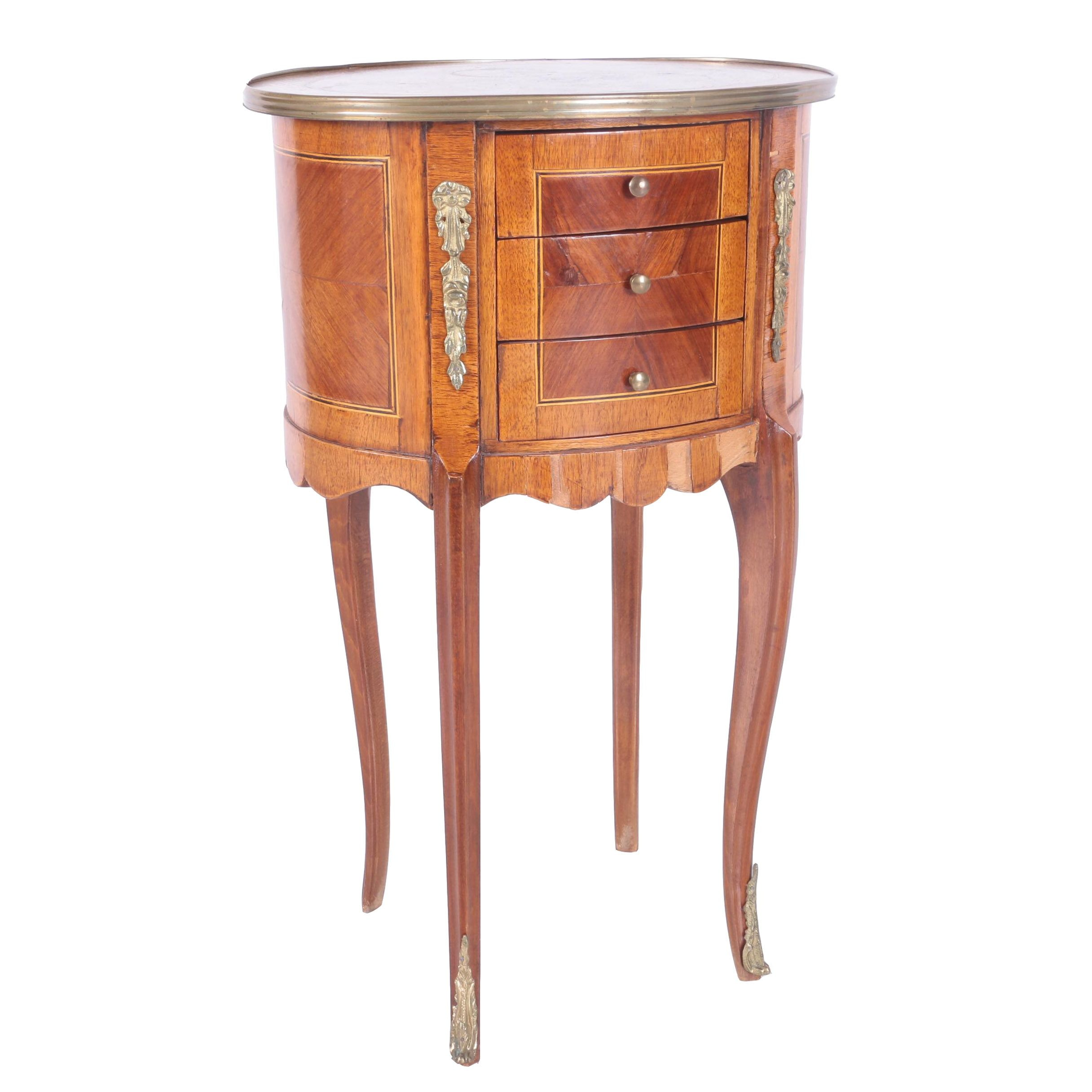 Vintage Louis XV Style Side Table