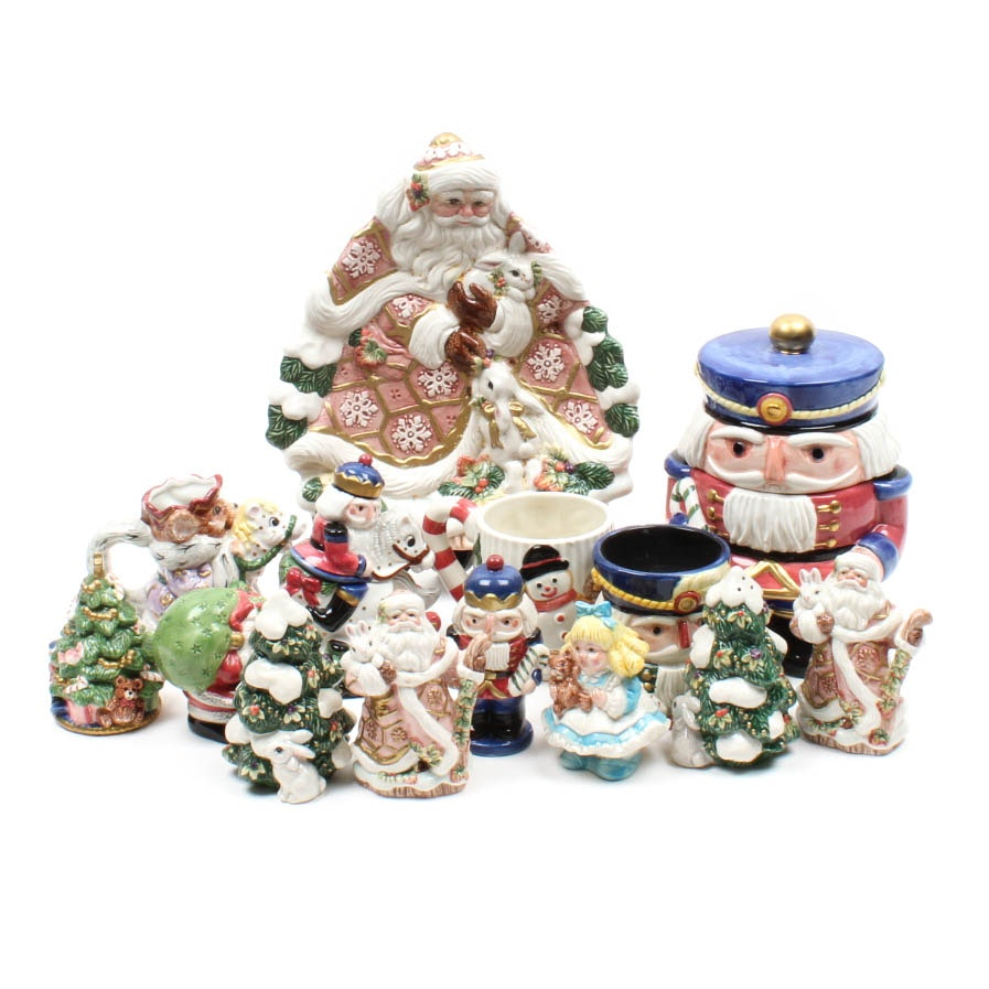 Fitz and Floyd Holiday Tableware Collection