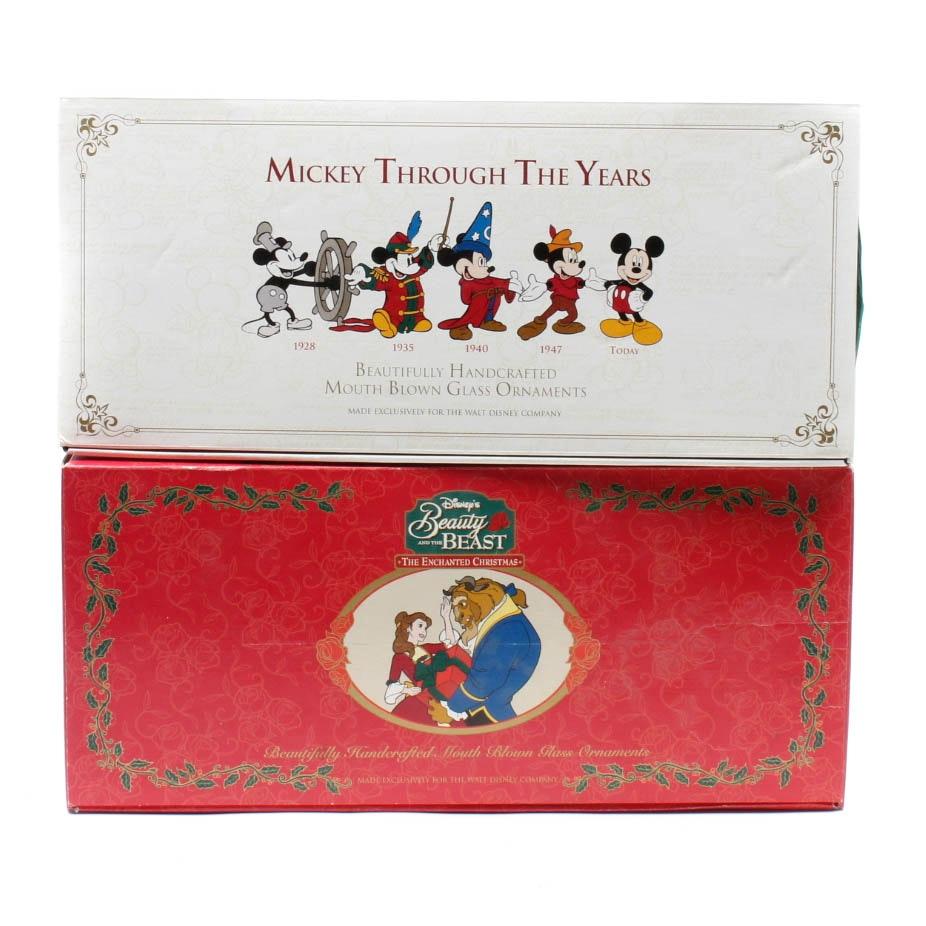 Walt Disney Box Set Ornaments