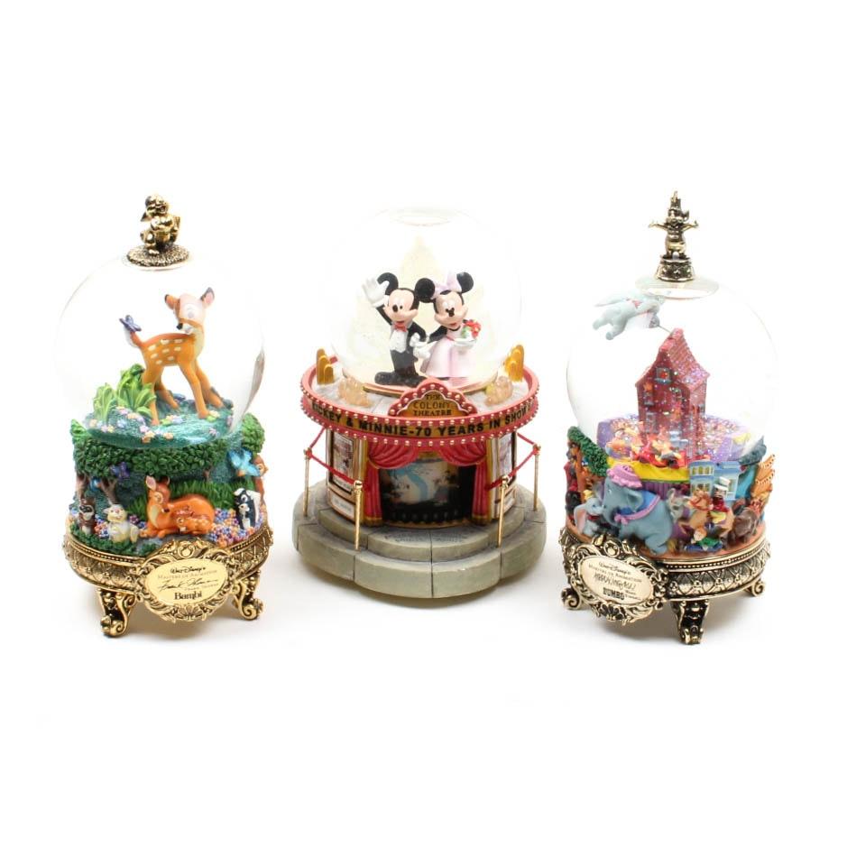 Disney Wind-up Musical Snow Globes