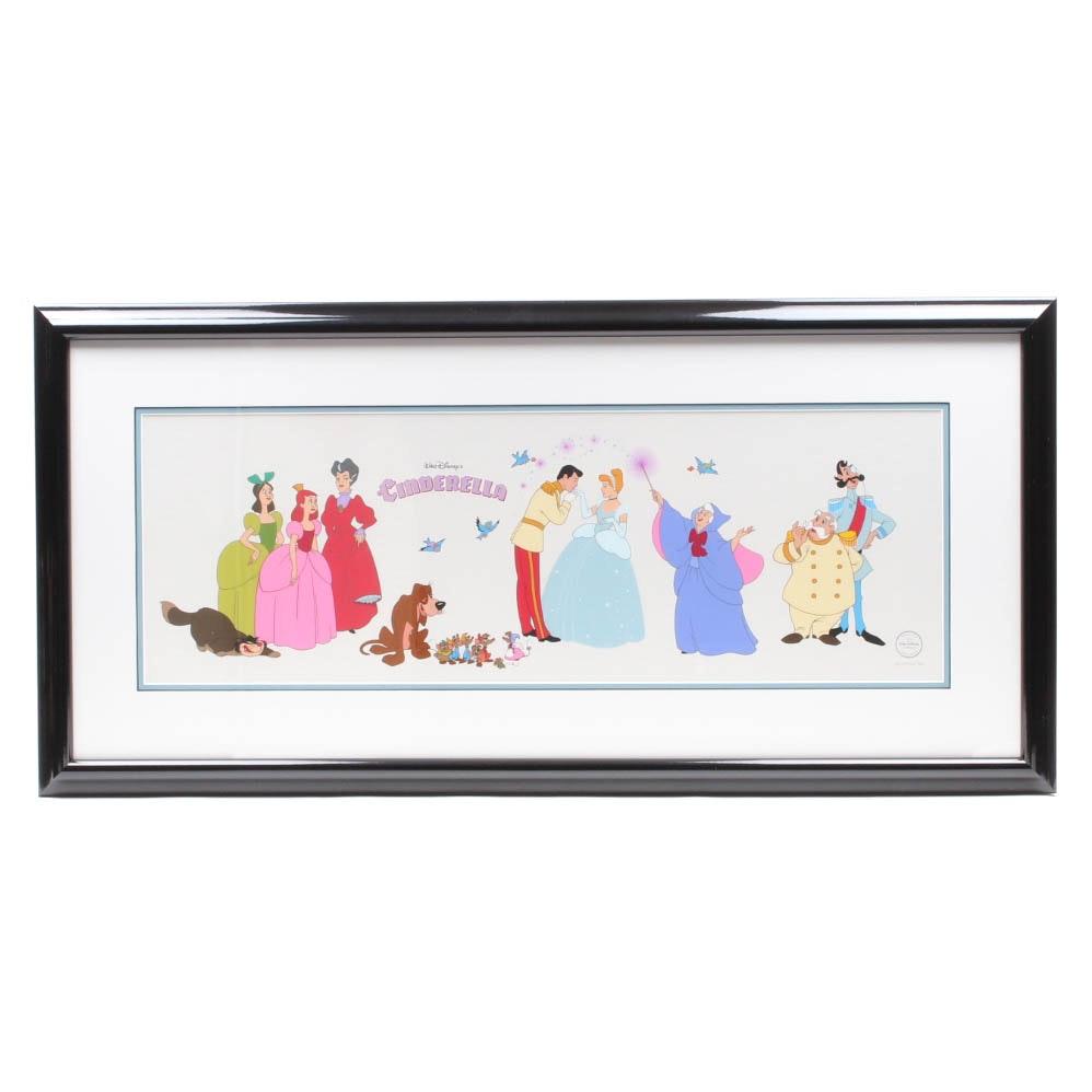 "The Walt Disney Company Limited Edition Sericel ""Cinderella's Cast"""