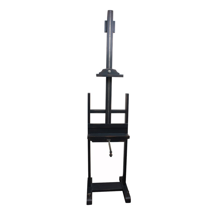 """""""19th C. English Artist Easel"""" Media Stand by Restoration Hardware"""