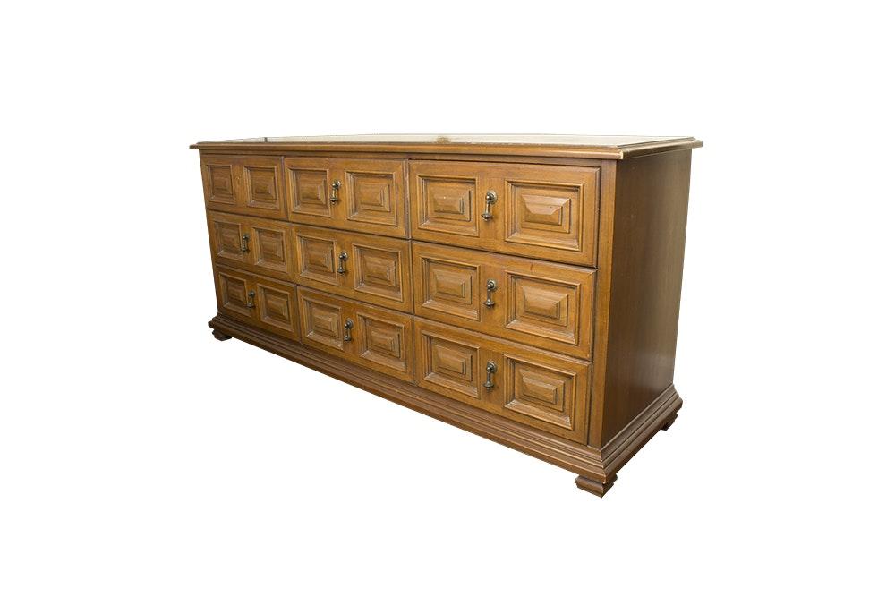 """Vintage Oak """"Esperanto"""" Dresser by Drexel"""