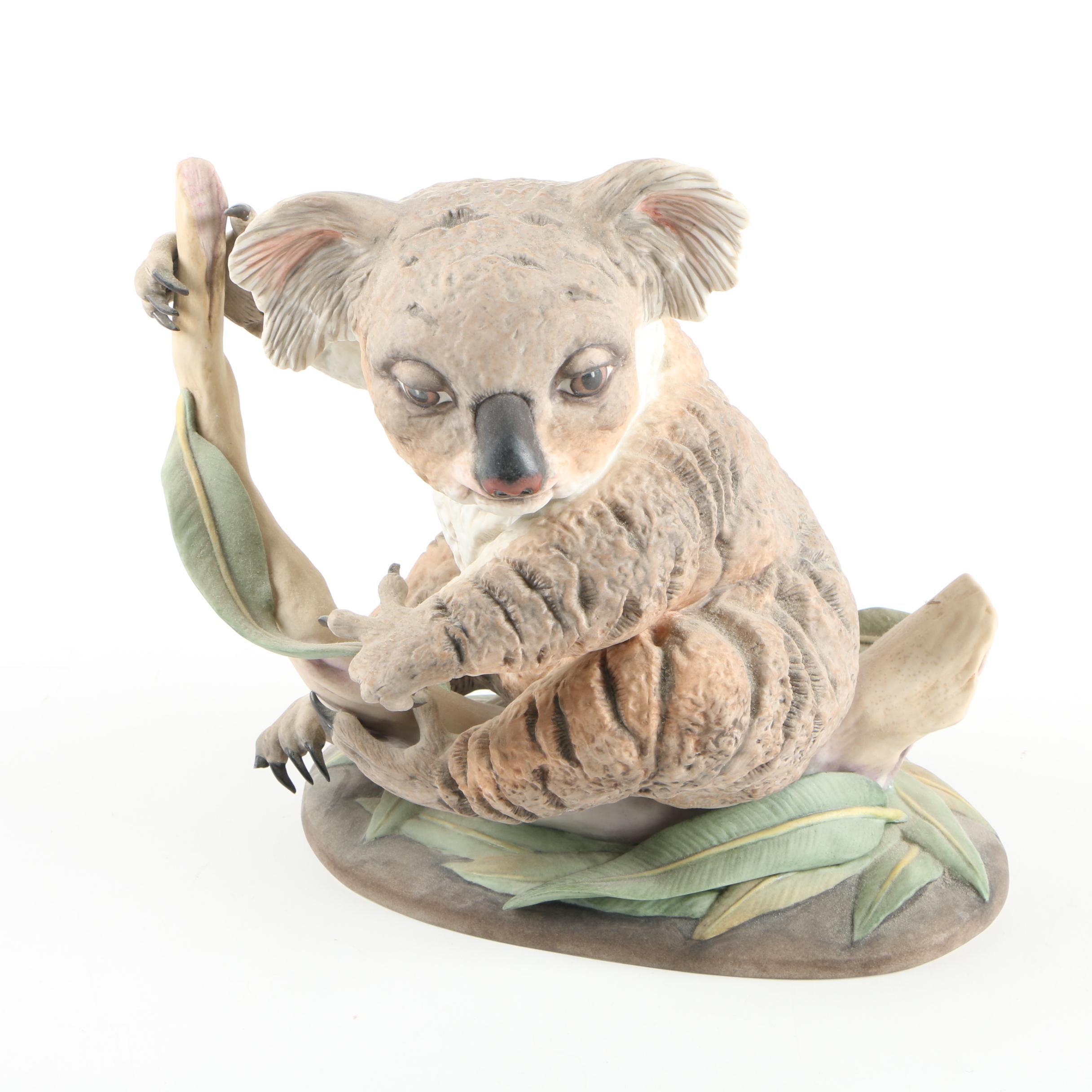 "Boehm ""Baby Koala"" Signed Figurine"