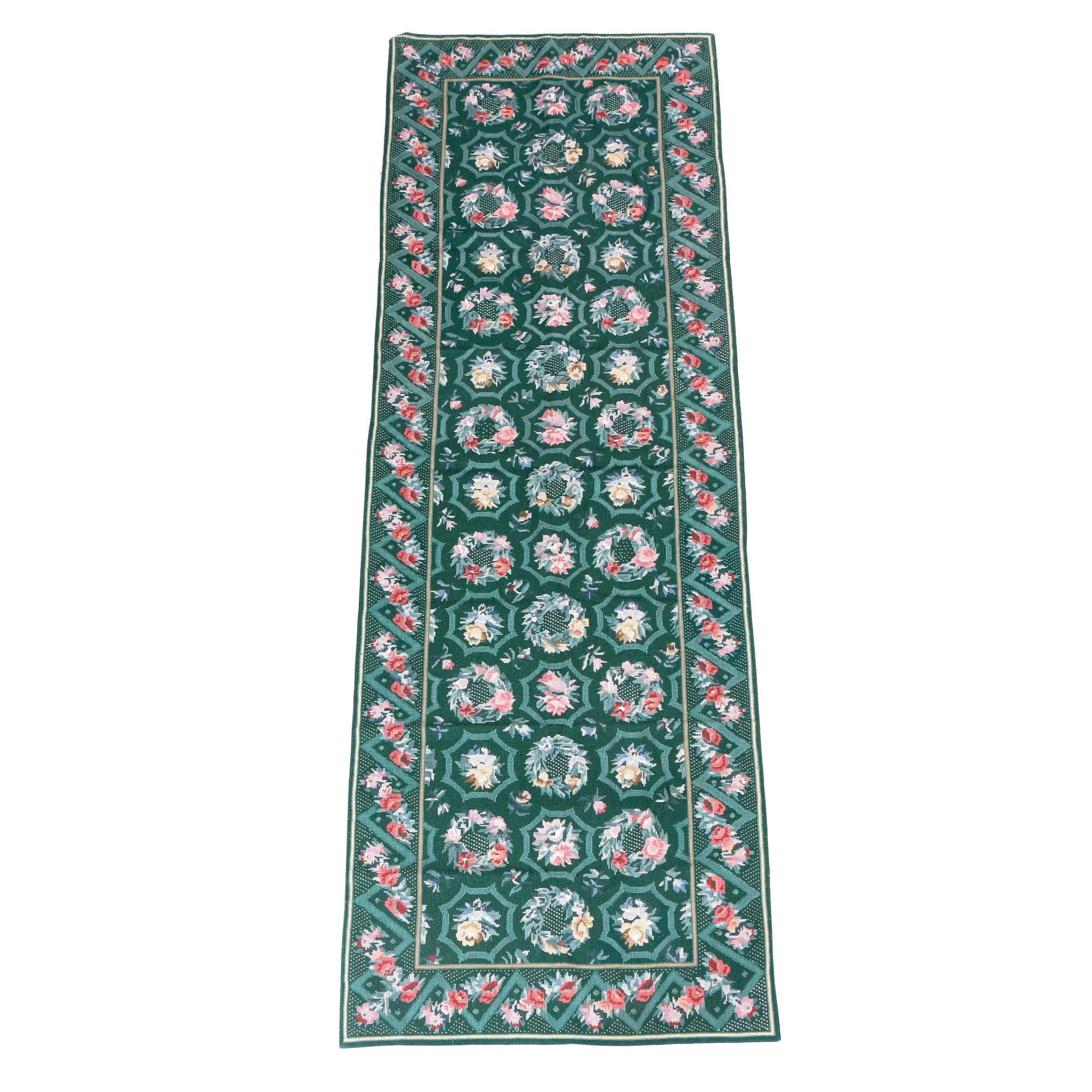 Needlepoint Wool Carpet Runner