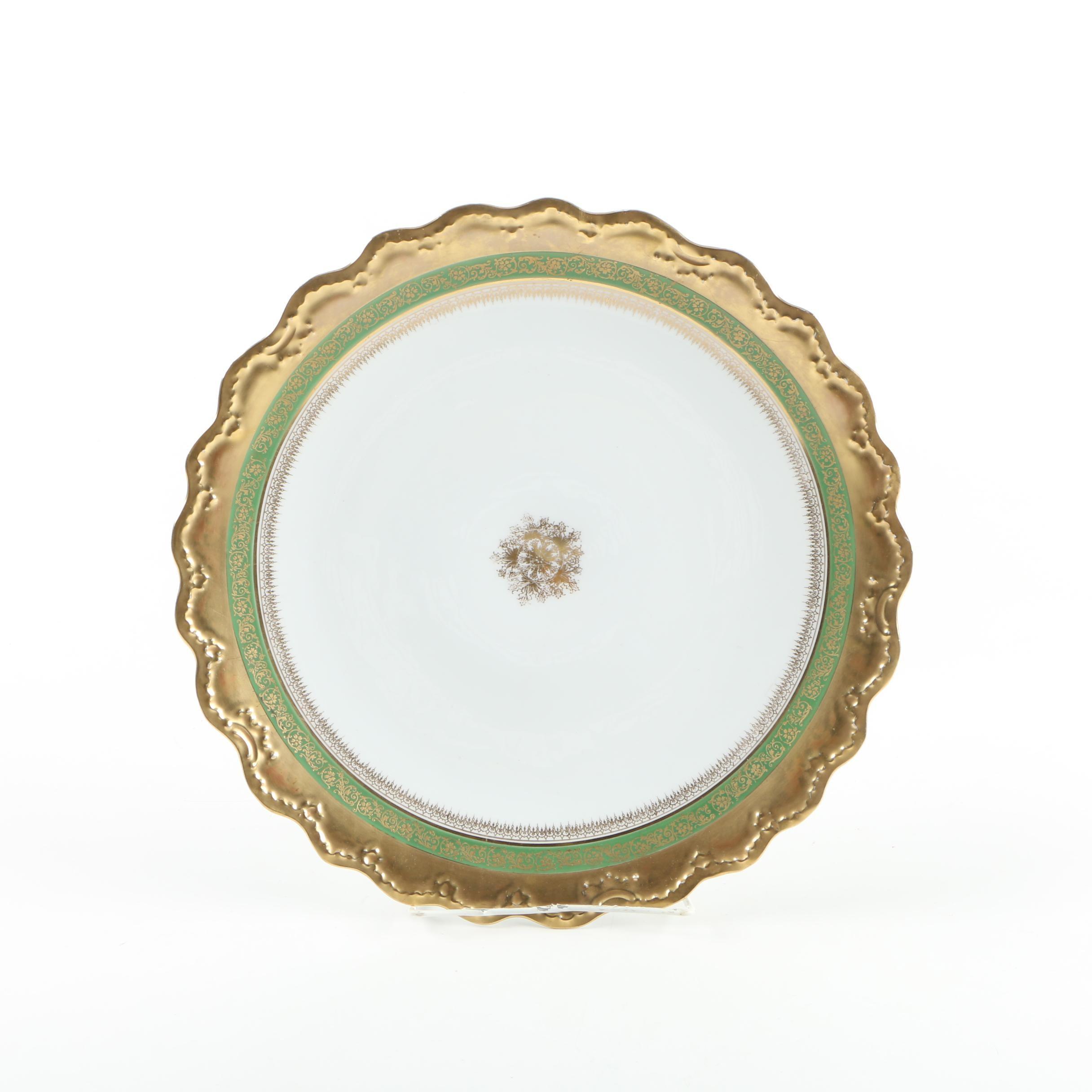 Vintage Limoges Porcelain Platter