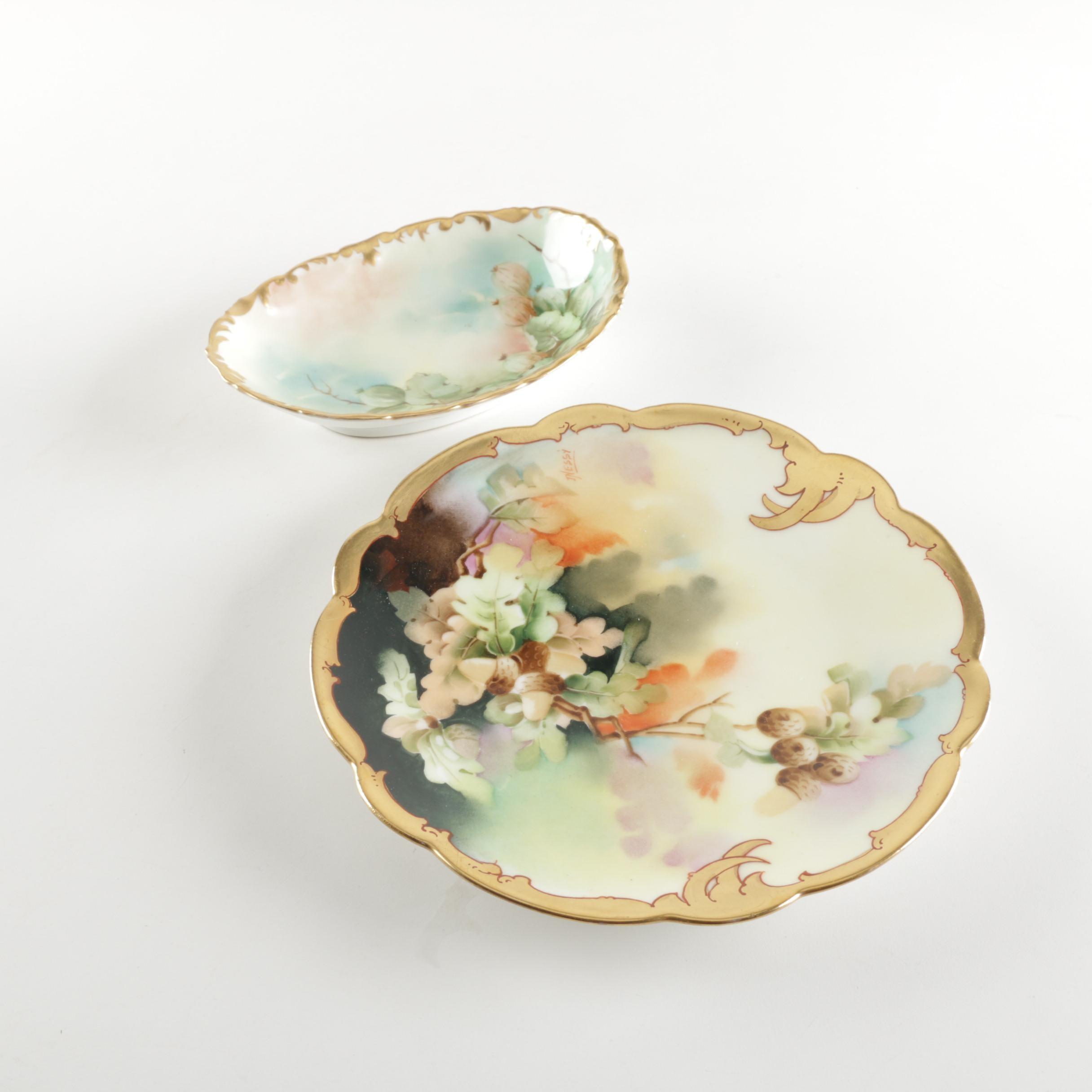 Antique Porcelain Tableware Featuring Tressemanes & Vogt Limoges
