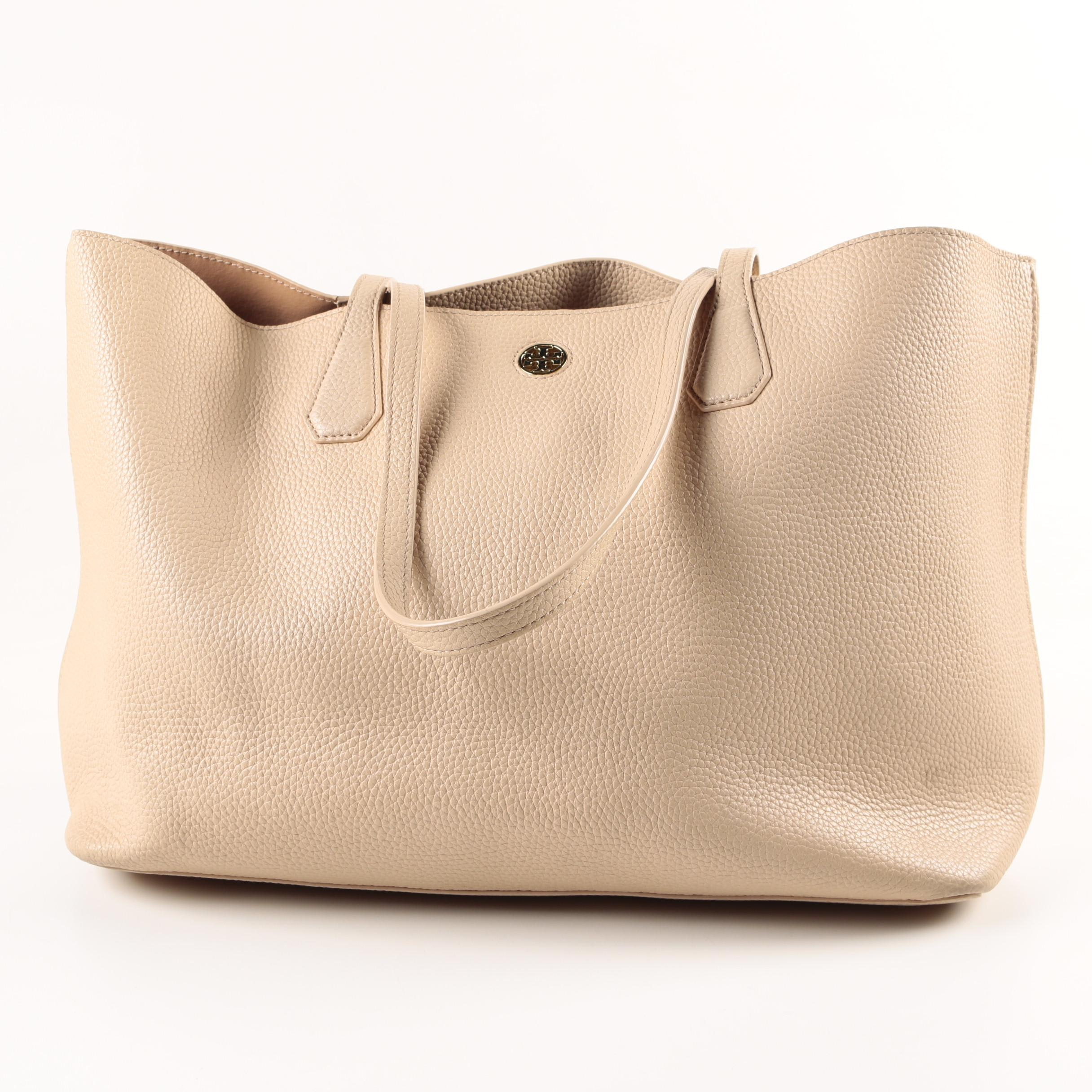 Tory Burch Pebble Grained Leather Tote
