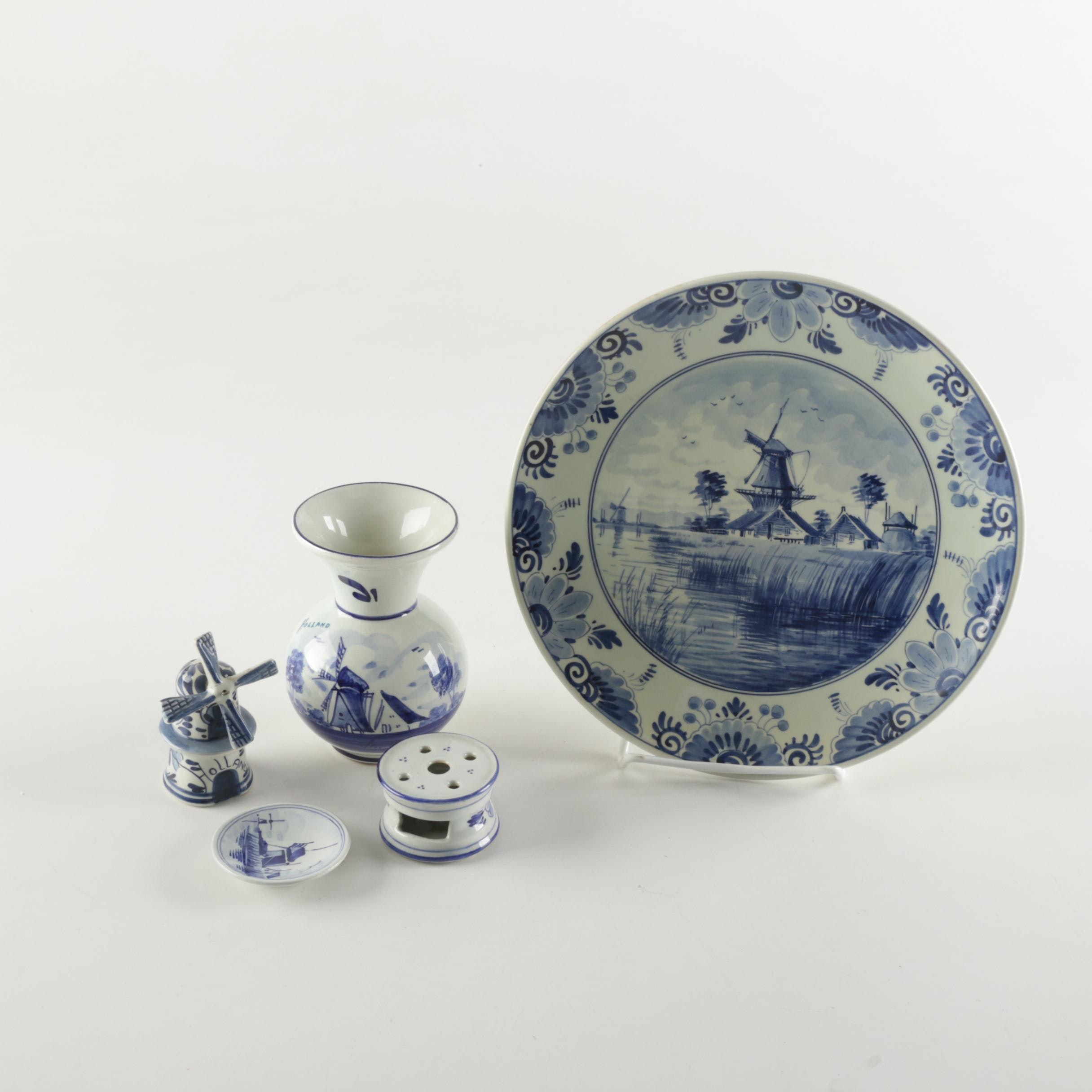 Collection of Delftware