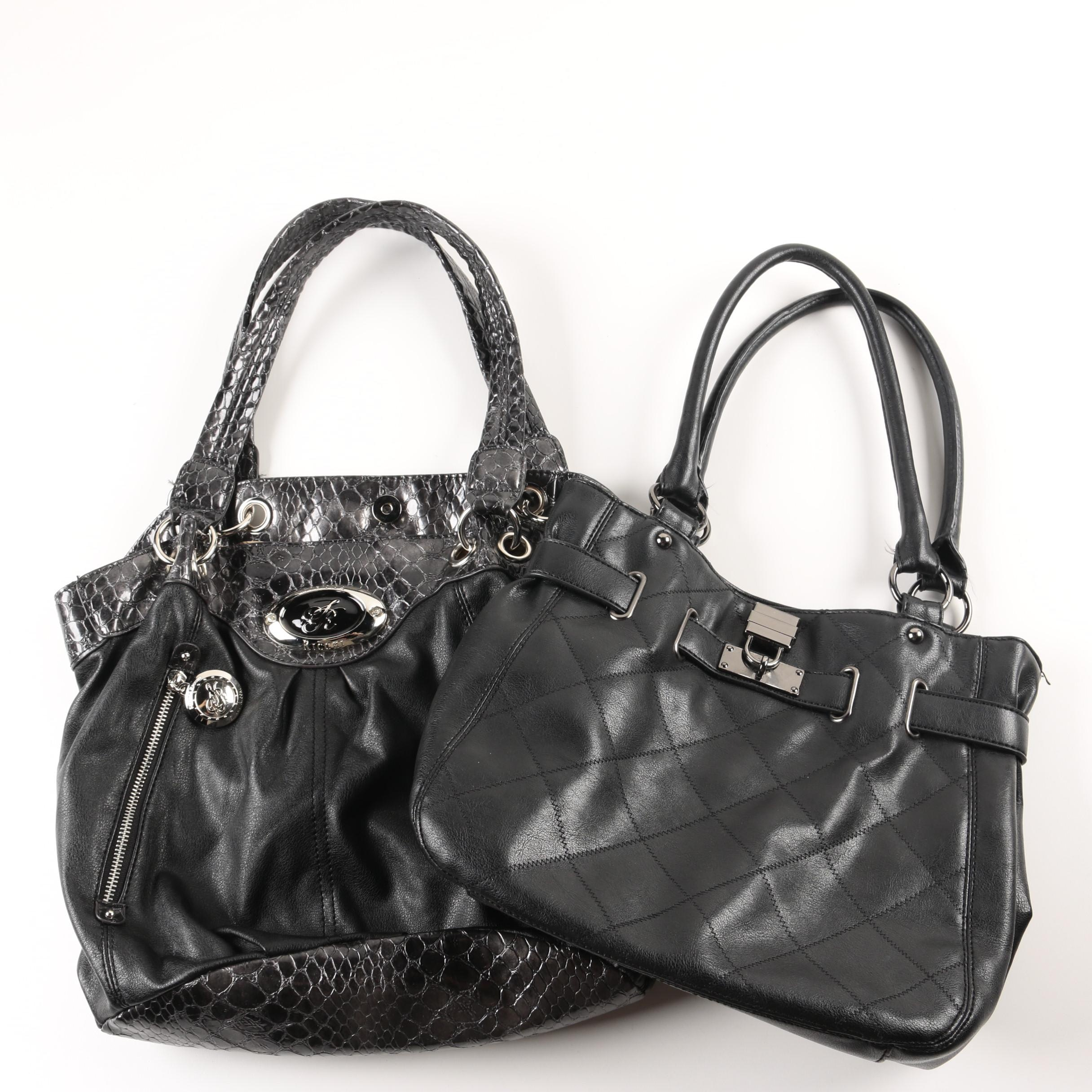 Leather Handbags Including Relic
