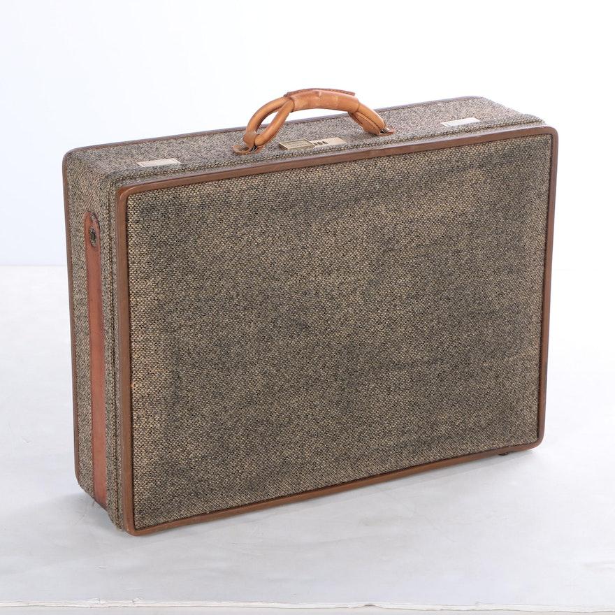 Hartmann Luggage Tweed Suitcase