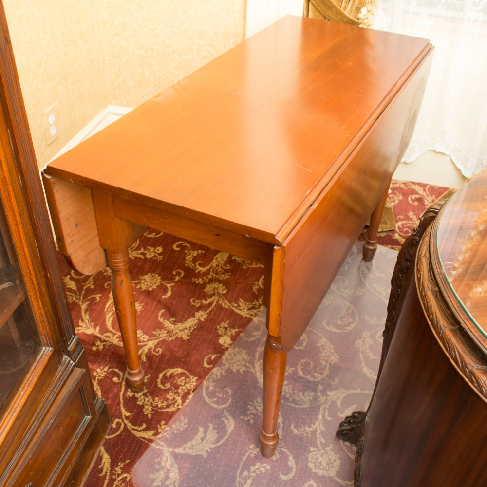 Federal Style Drop-Leaf Table