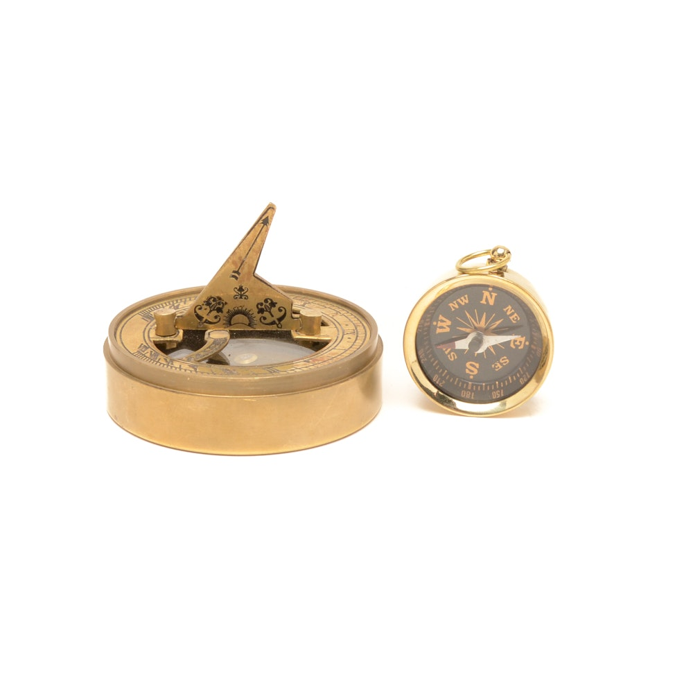 Sun Dial and Compass Collection