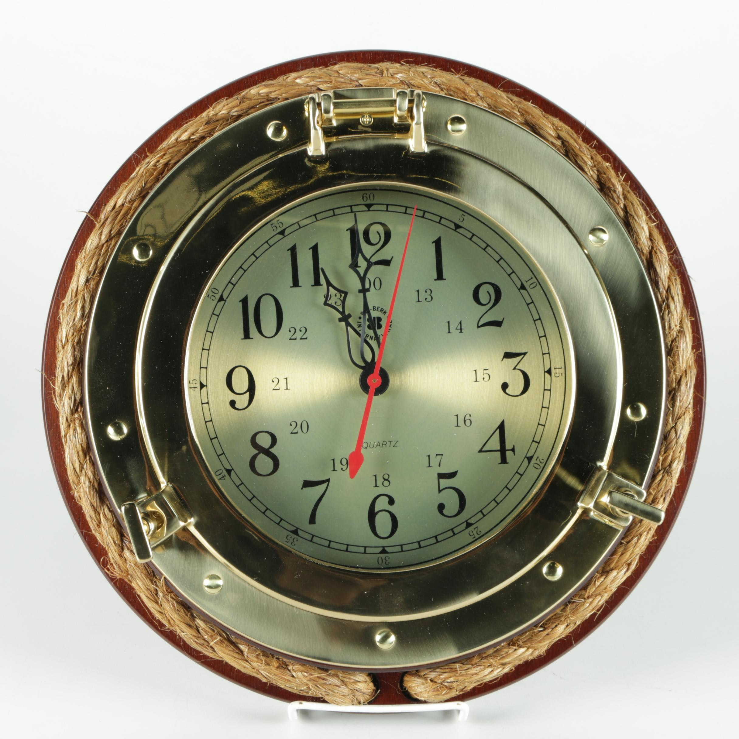Nautical Porthole Wall Clock