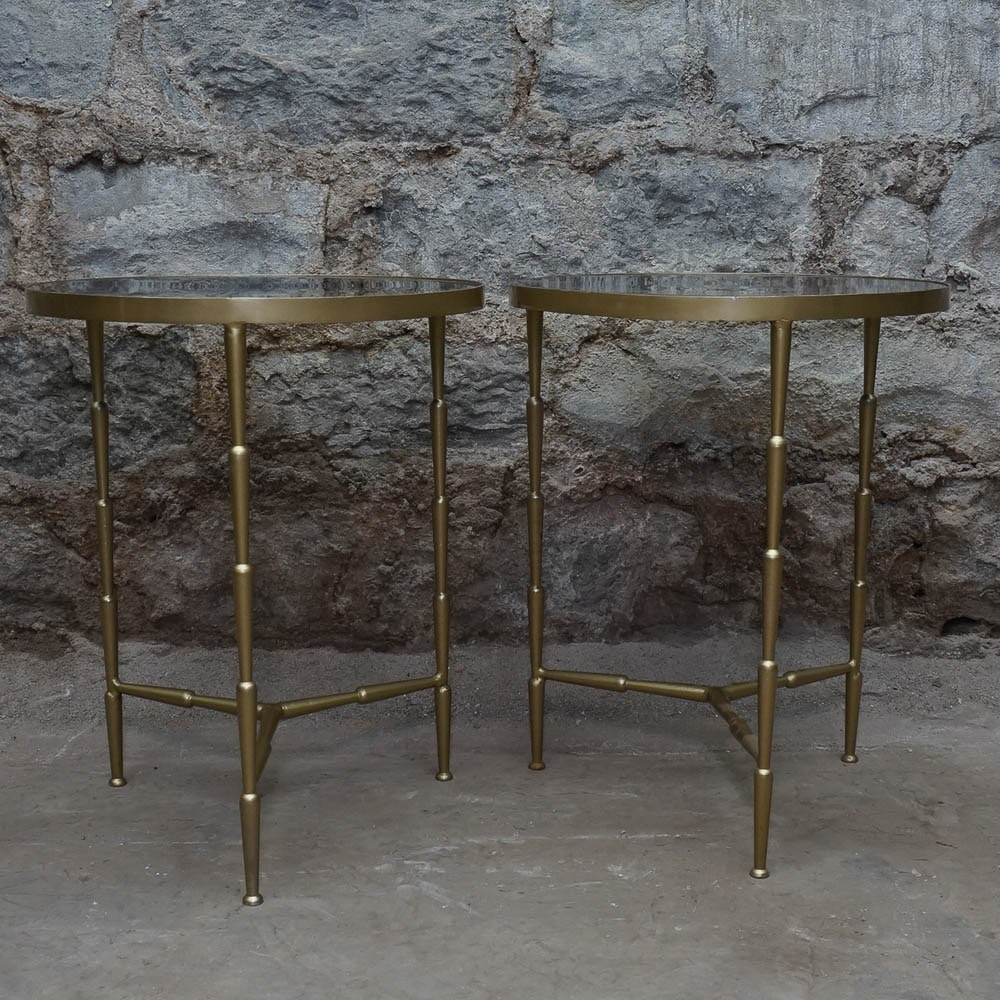 Pair of Regency Style Accent Tables