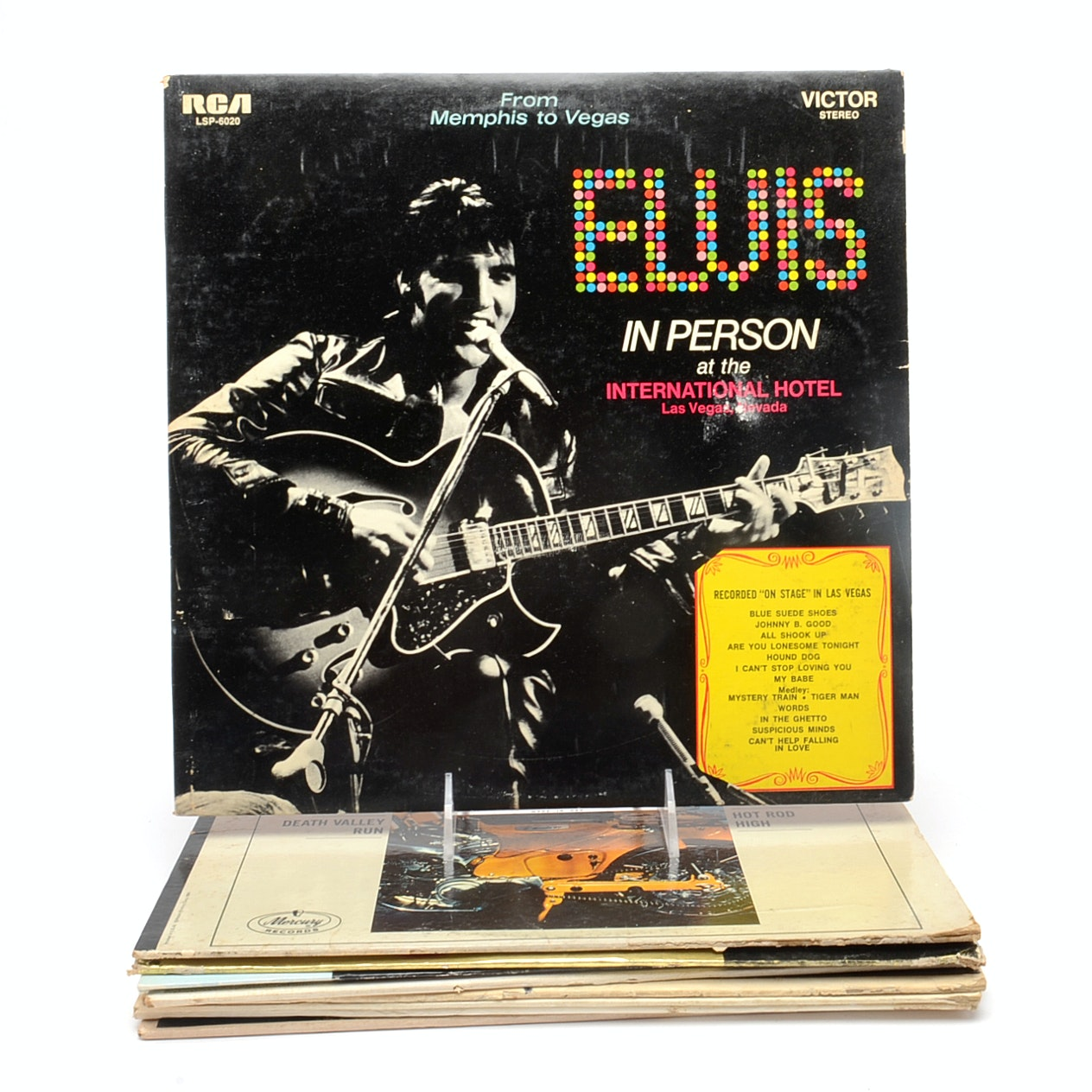 Everly Brothers, Elvis and Other Vintage Rock/Pop LPs