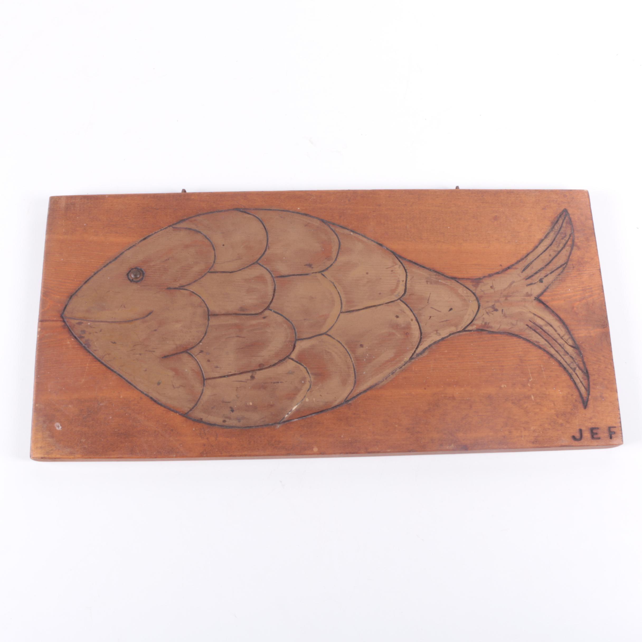 Handmade Decorative Fish Wall Hanging
