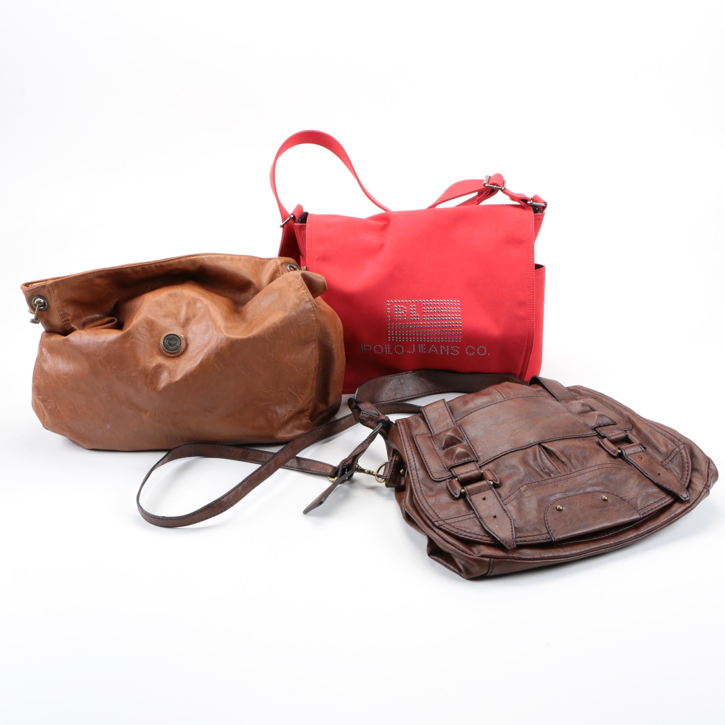 Women's Handbags Including Polo Jeans Co.