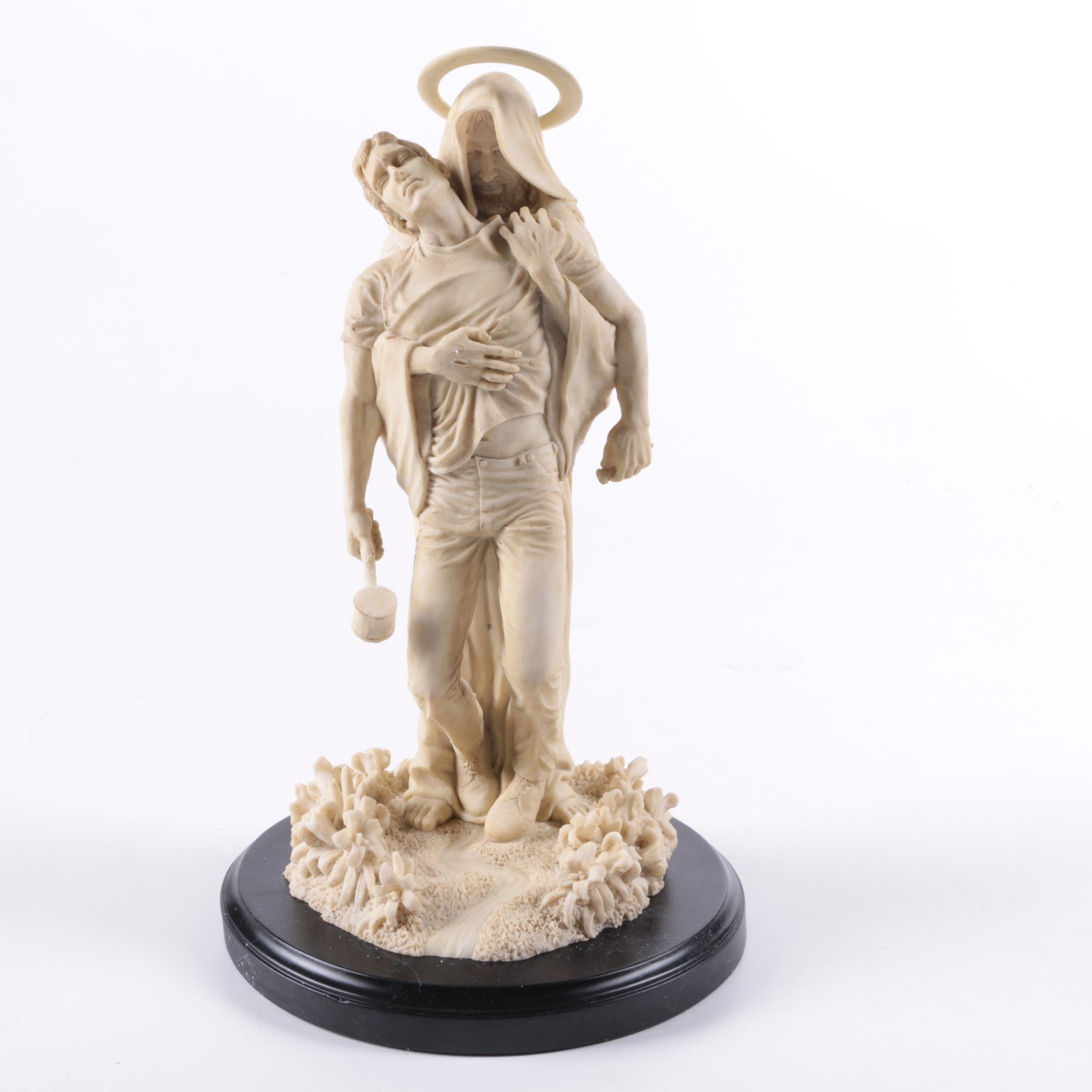 "Thomas Blackshear's ""Forgiven"" The ""Master Peace"" Collection Resin Sculpture"