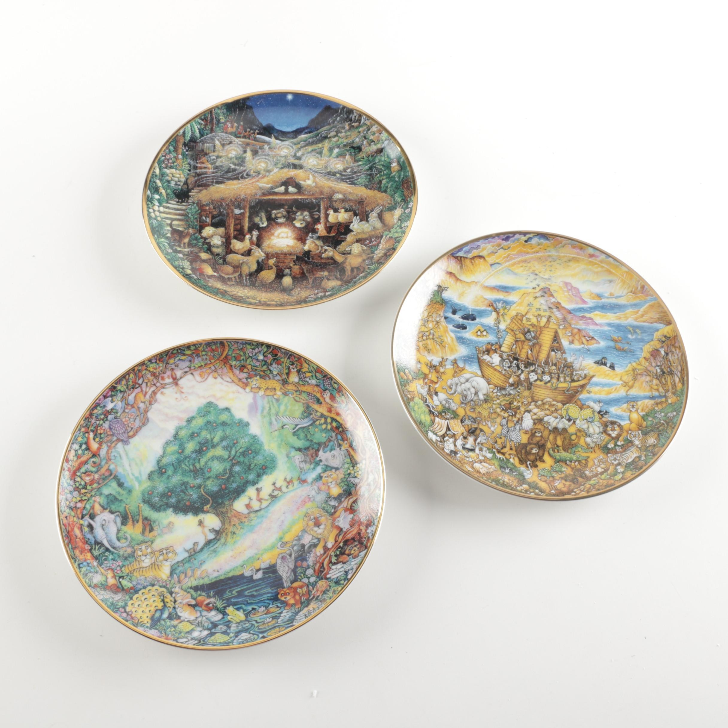 Franklin Mint Limited Edition Collector Plates