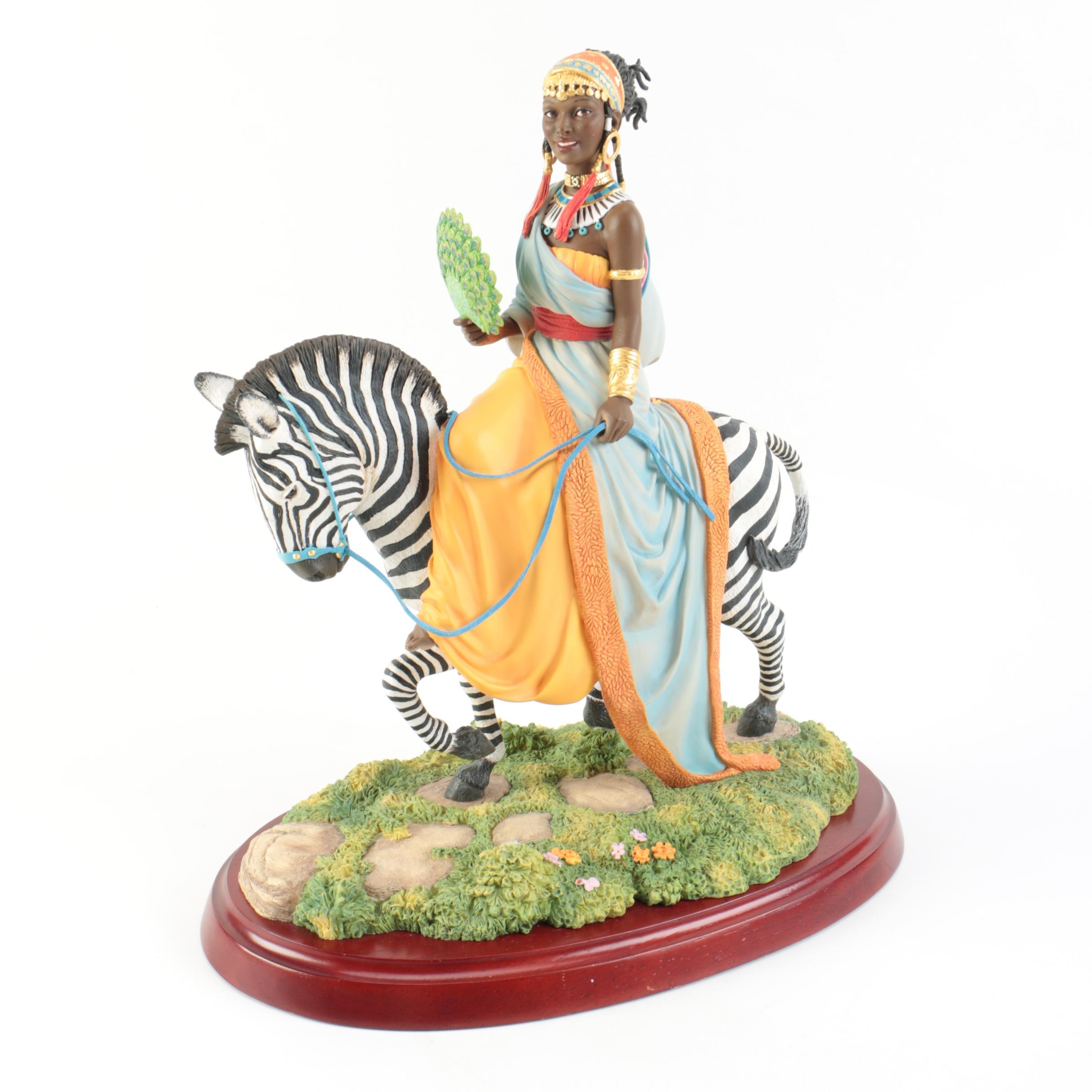 """""""The African Queen"""" Ebony Visions Figurine"""
