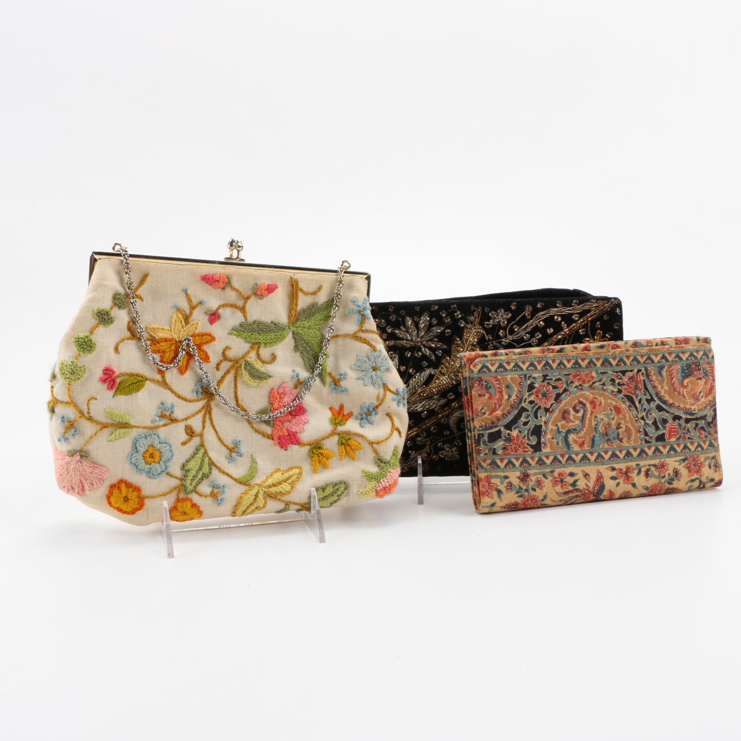 Vintage Embellished Evening Bags