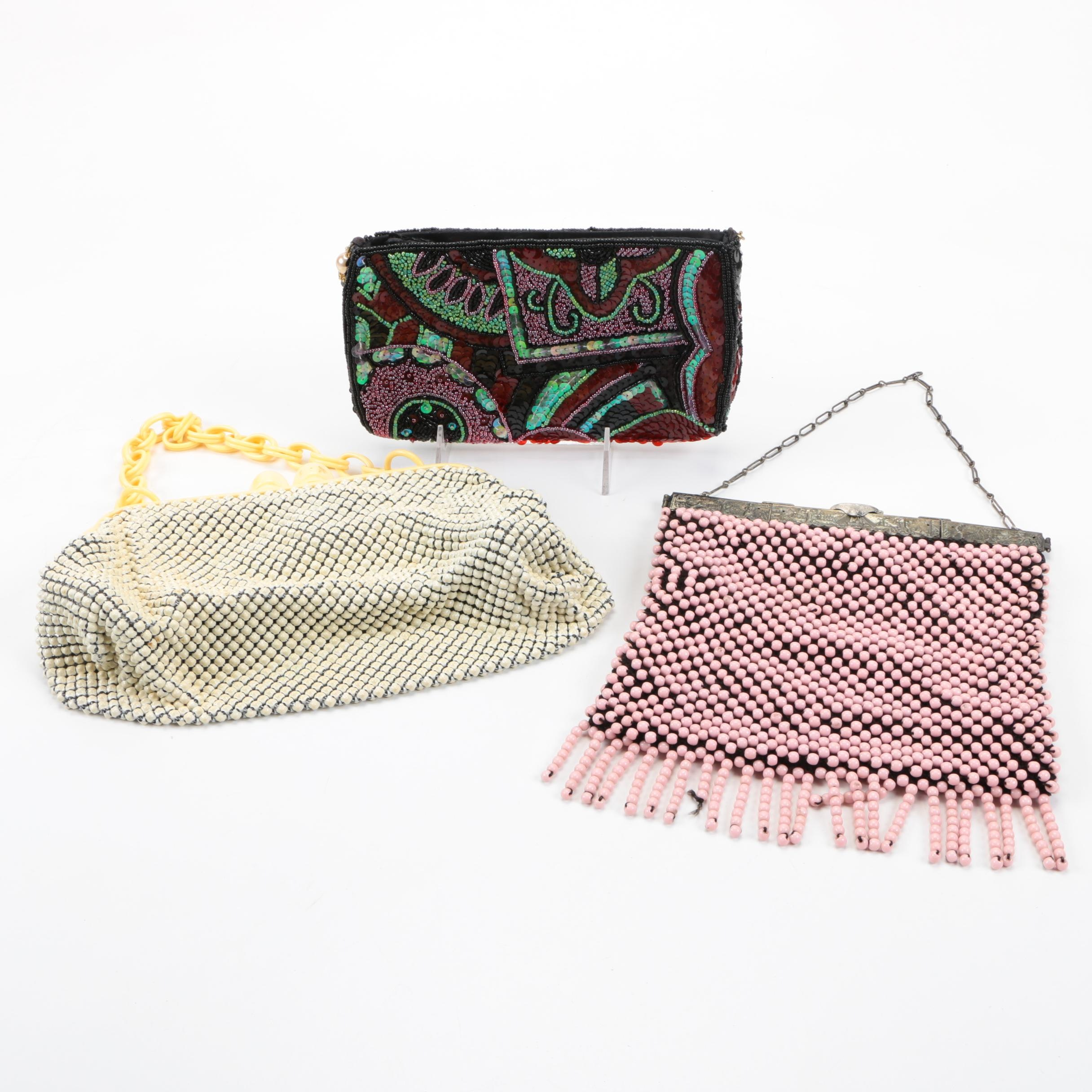Beaded Handbags Including Vintage Whiting & Davis