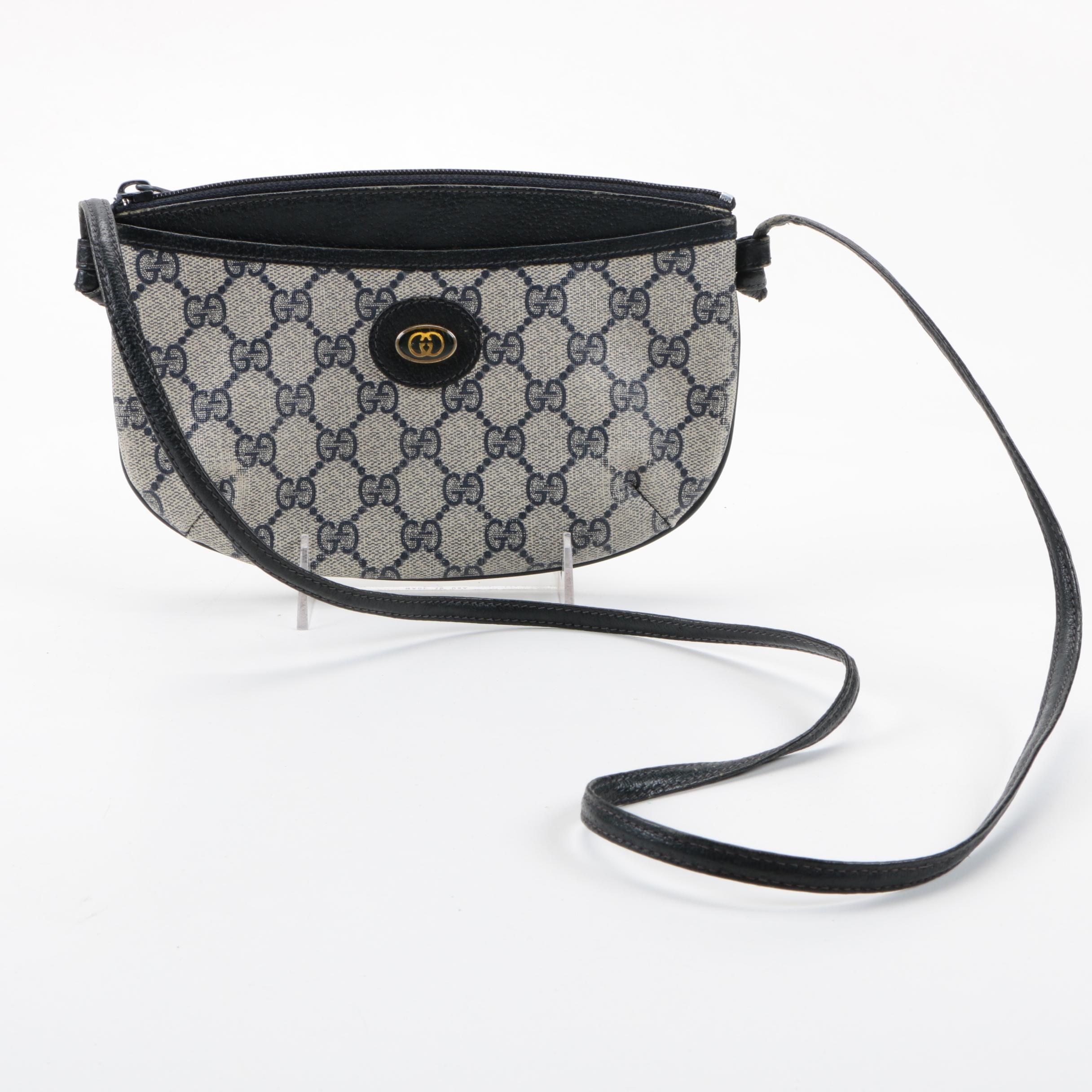 Gucci Supreme Canvas Crossbody Bag