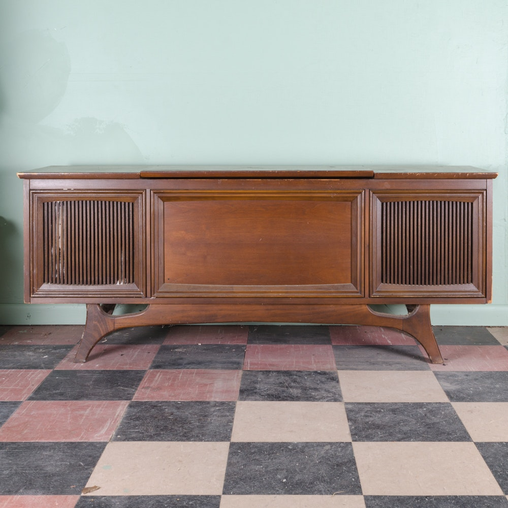 Vintage GE Console Stereo