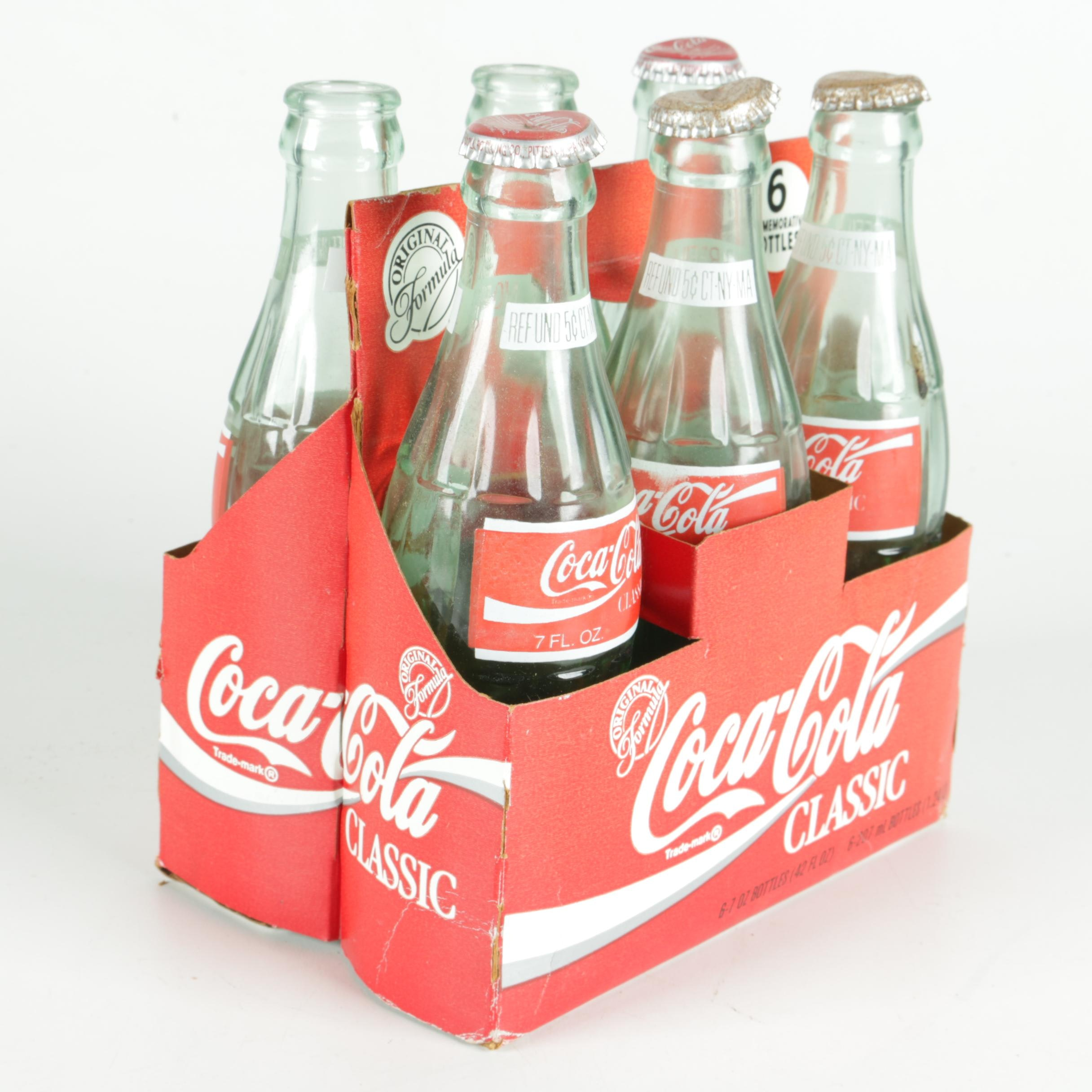 50th Anniversary Coca Cola Cape Cod Collector's Bottles