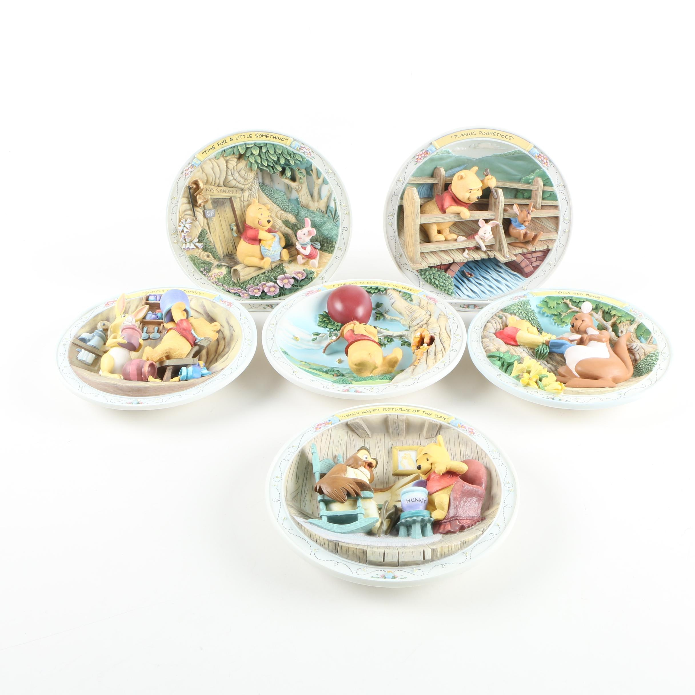 Bradford Exchange Winnie the Pooh Ceramic Plates ...  sc 1 st  EBTH.com & Bradford Exchange Winnie the Pooh Ceramic Plates : EBTH