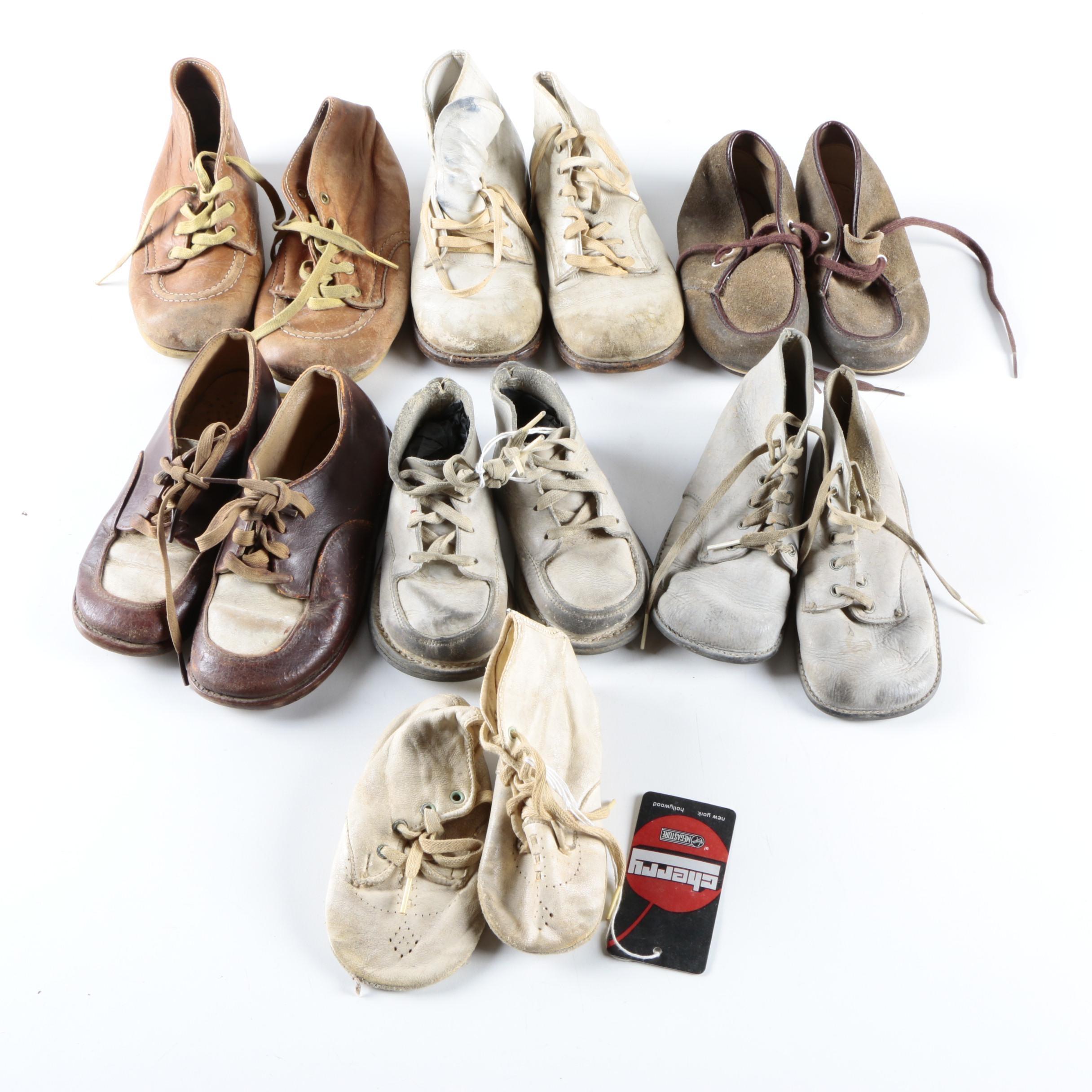 1940s & 1950s Children's Vintage Footwear