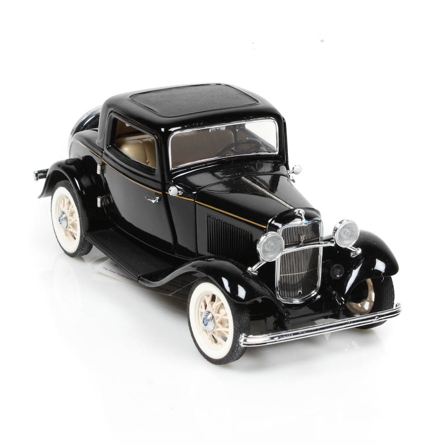 Franklin Mint 1932 Ford Deuce Coupe Die Cast Car : EBTH