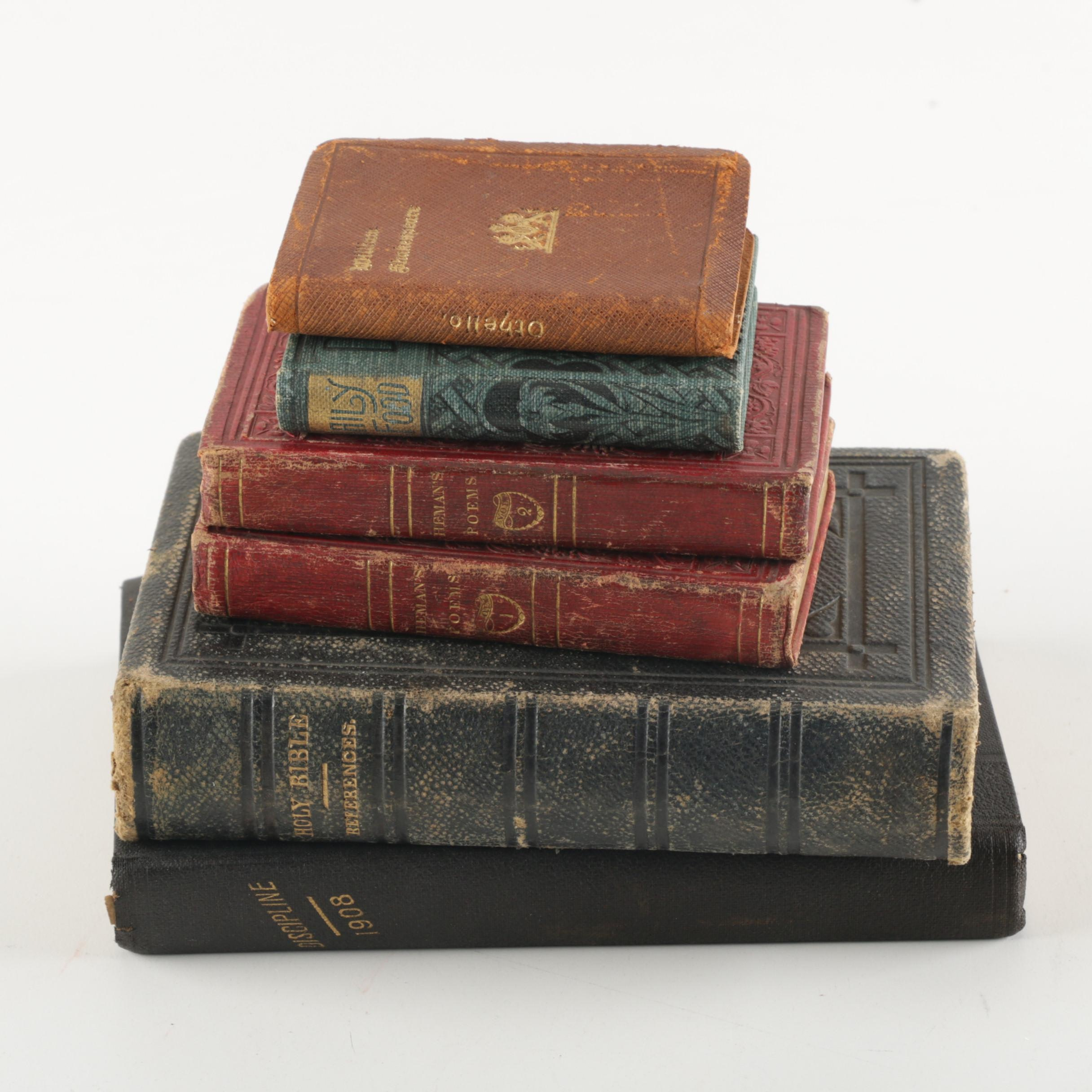 Antique Poetry and Religious Books