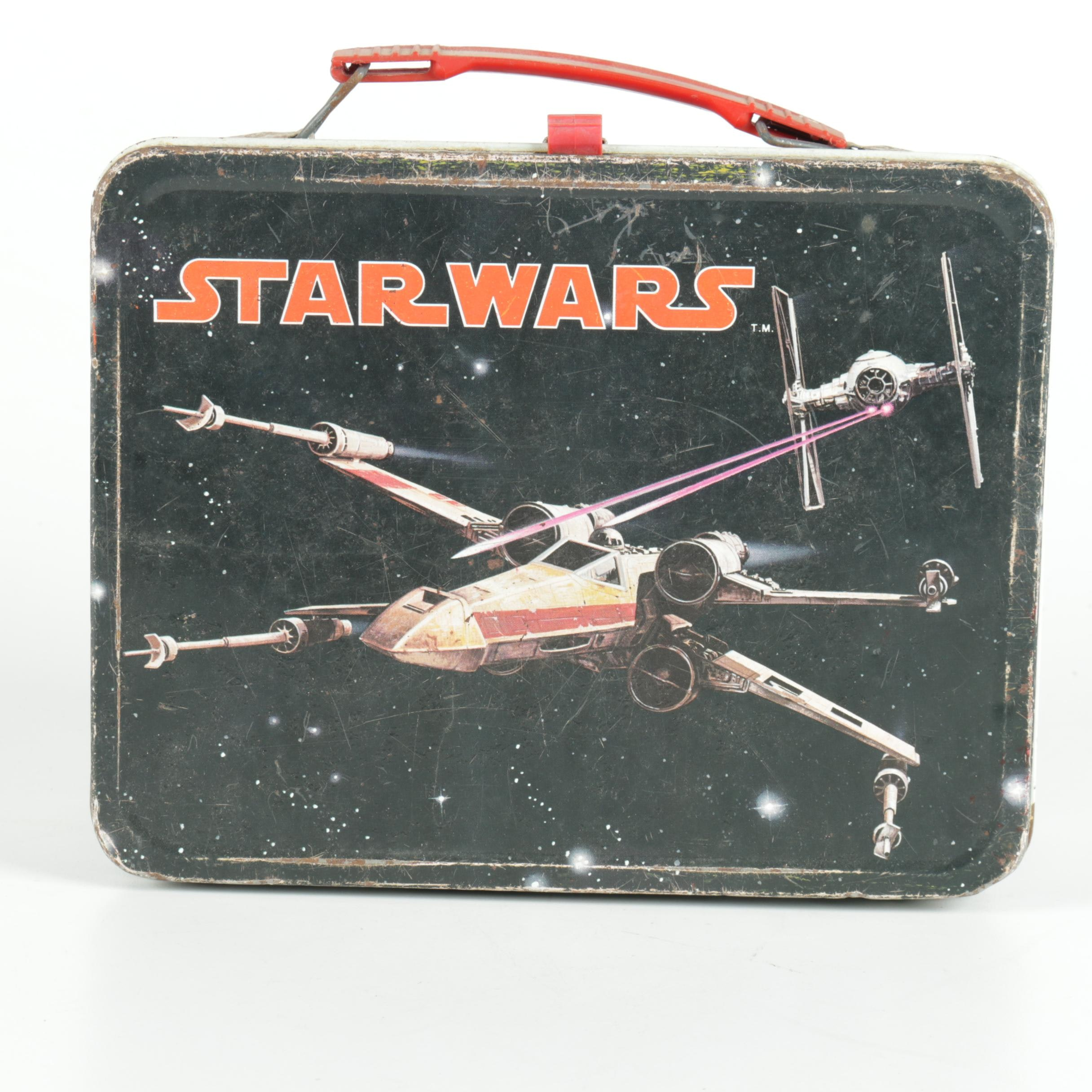 """Thermos """"Star Wars: A New Hope"""" Theme Lunch Box and Vacuum Flask"""