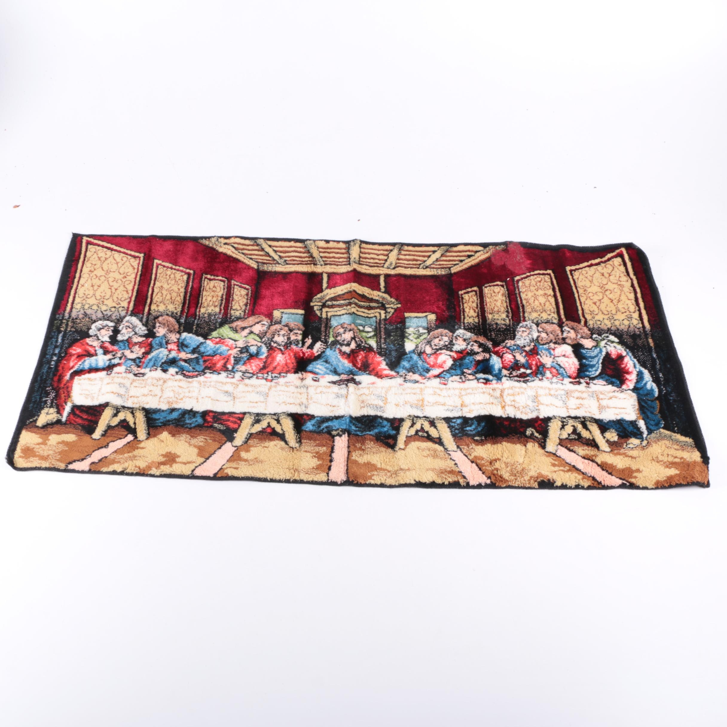 "Vintage Italian P & C Tapestry after ""The Last Supper"""