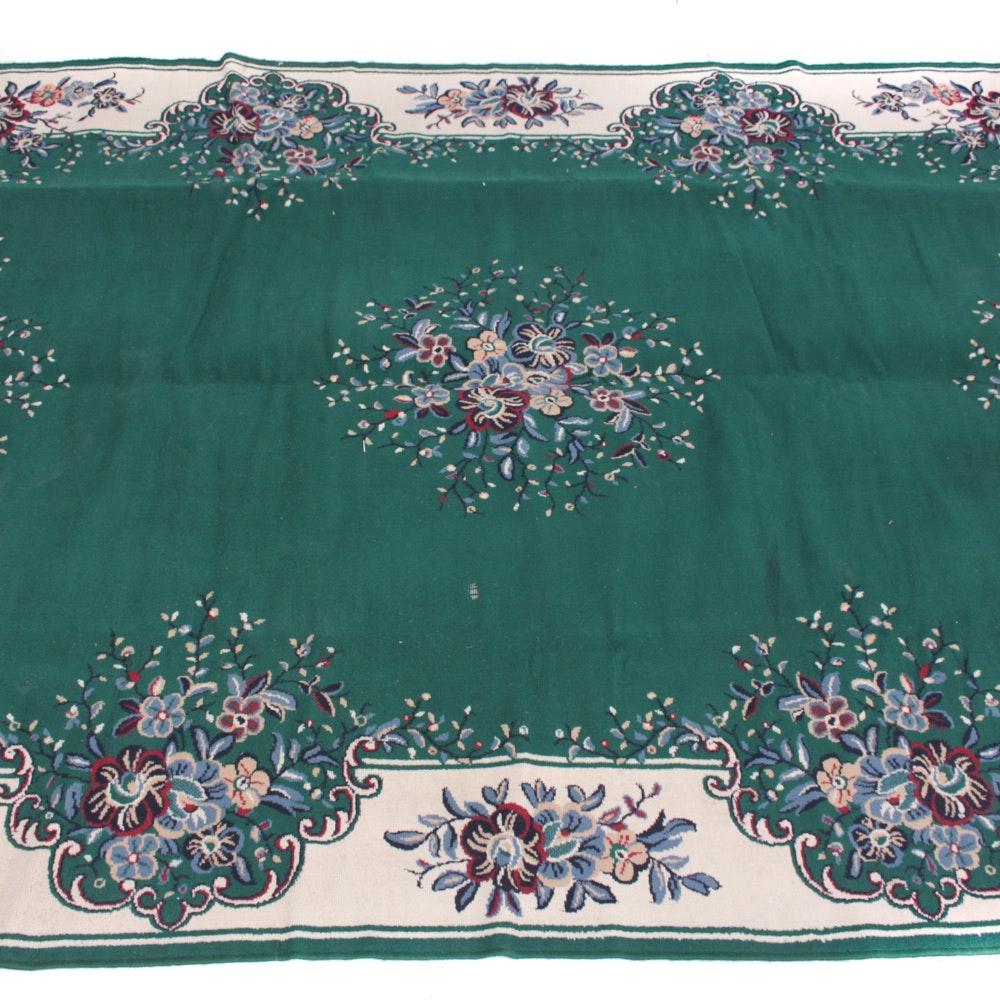 Power Loomed Persian Tabriz Style Room Size Rug