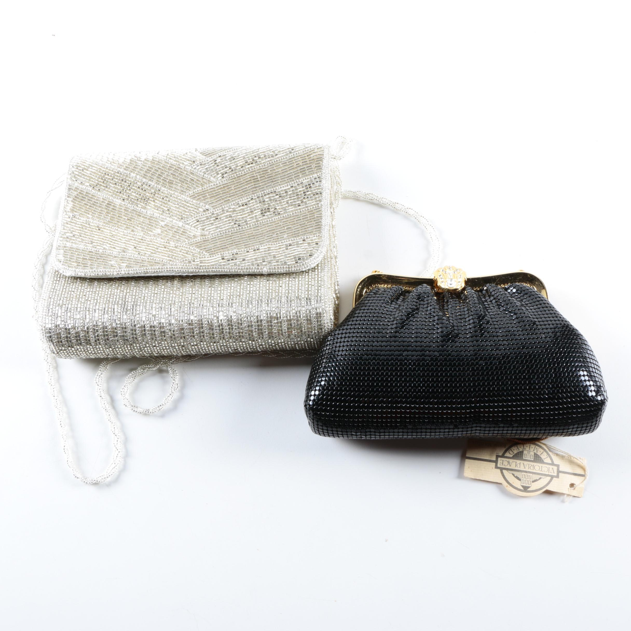 Two Vintage 1980s Clutch Bags Including La Regale and Victoria Place Limited