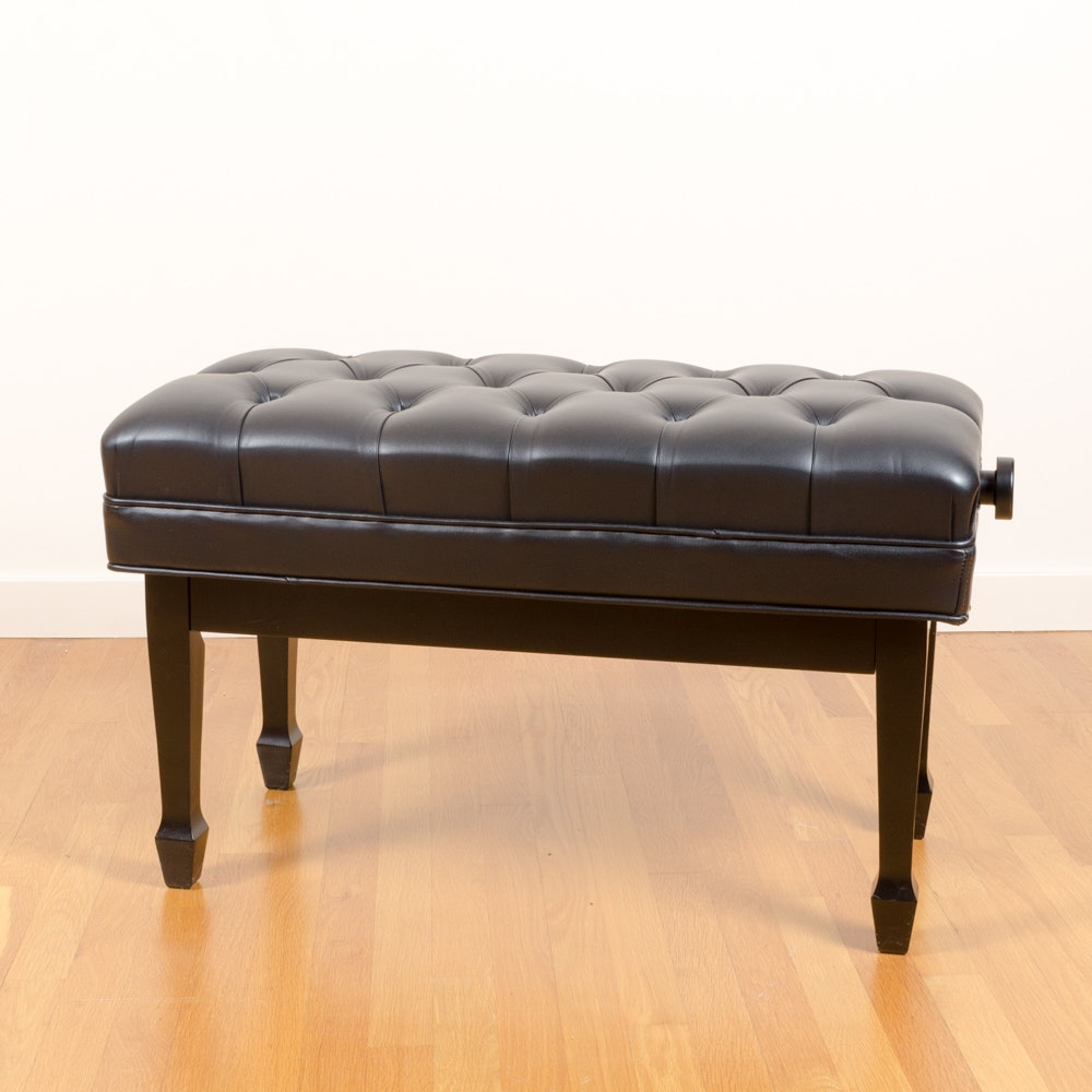 Adjustable Piano Bench by Paul L. Jansen & Son