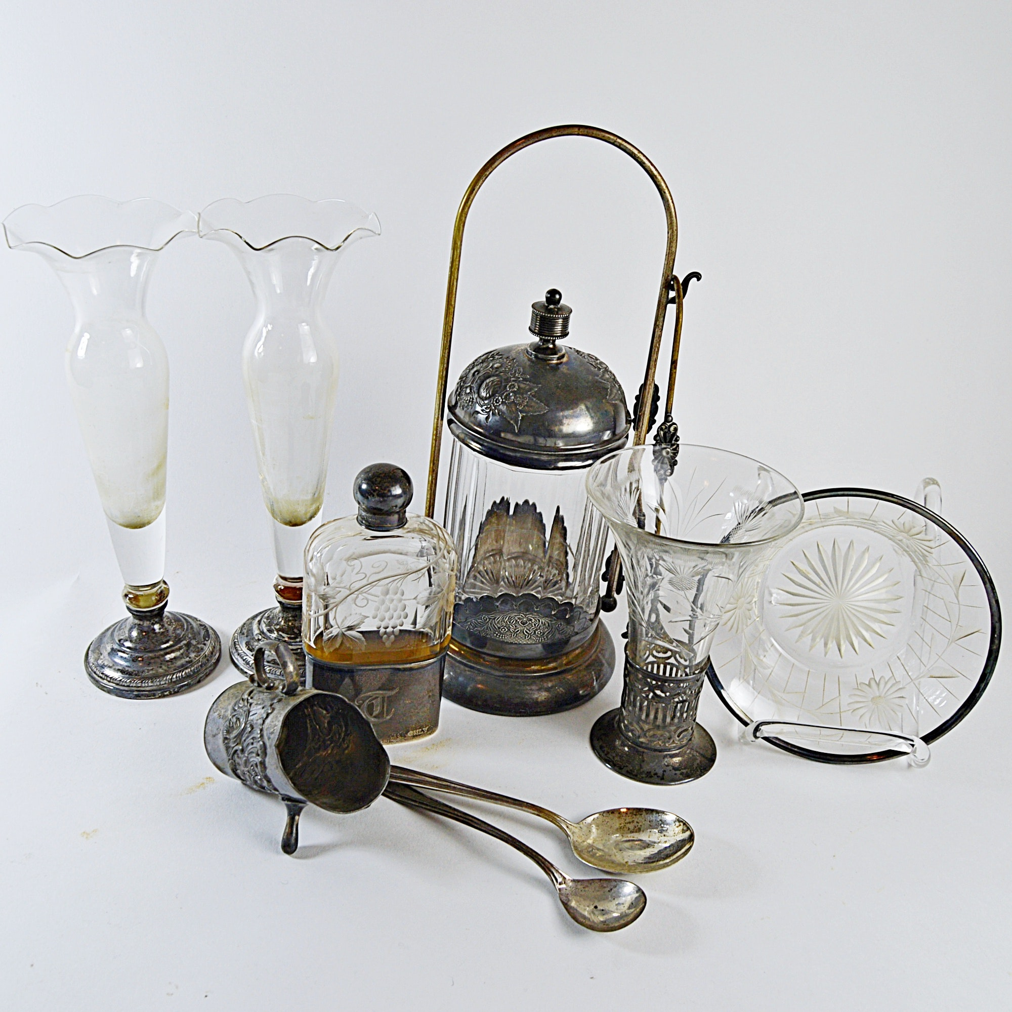 Antique Sterling Silver And Silver Plate Collectibles, Barware And  Kitchenalia ...