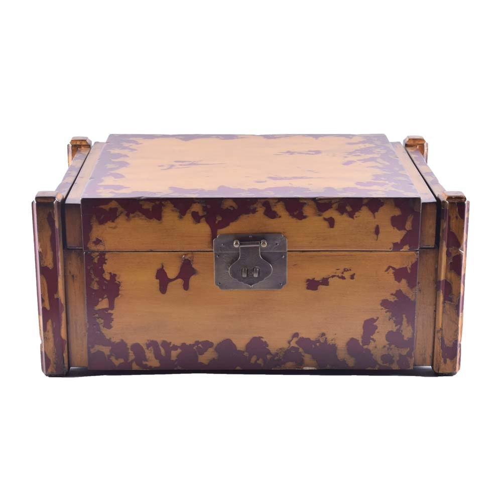 Interlude Home Petite Decorative Trunk