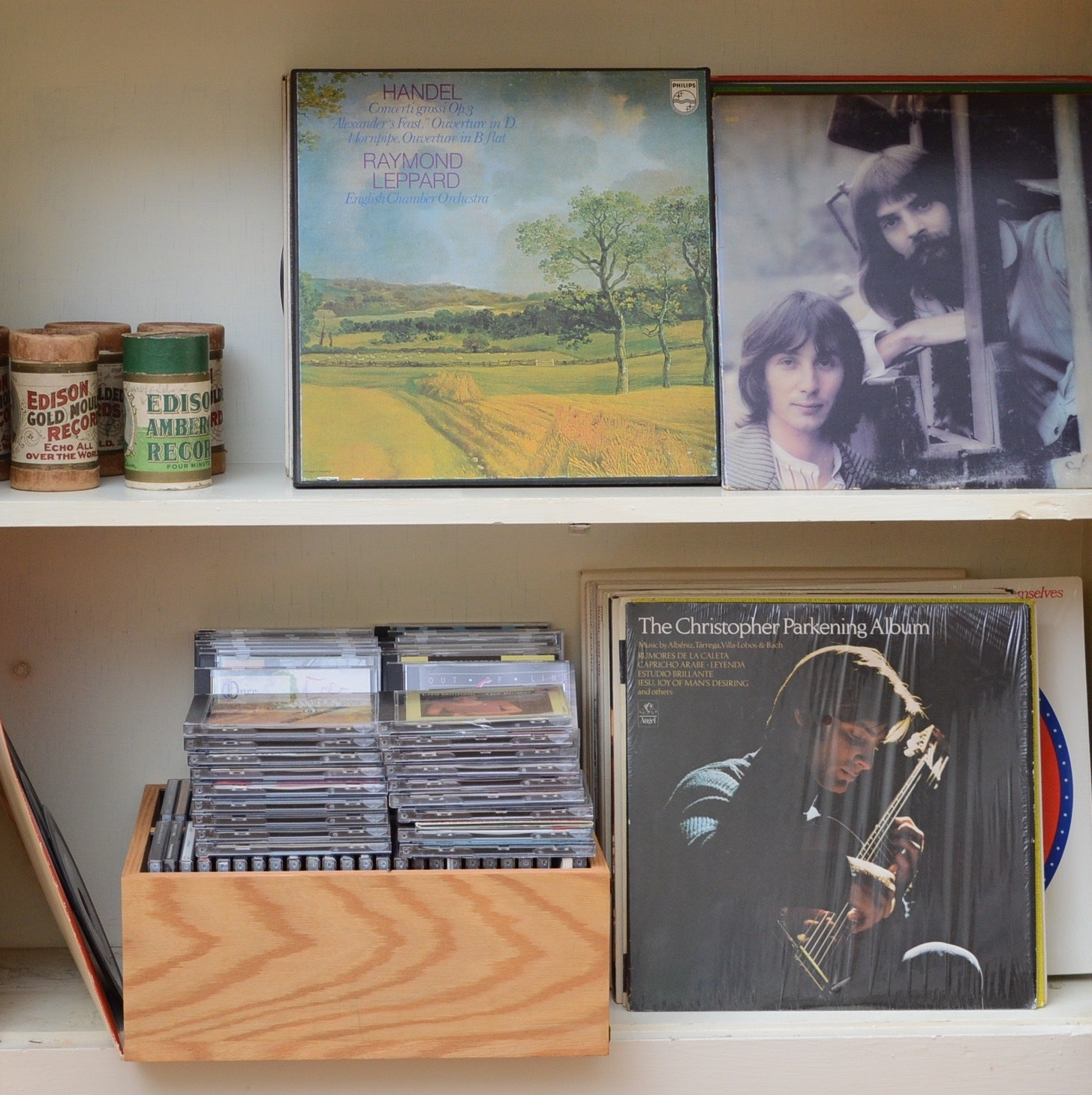 Vinyl Album and CD Collection